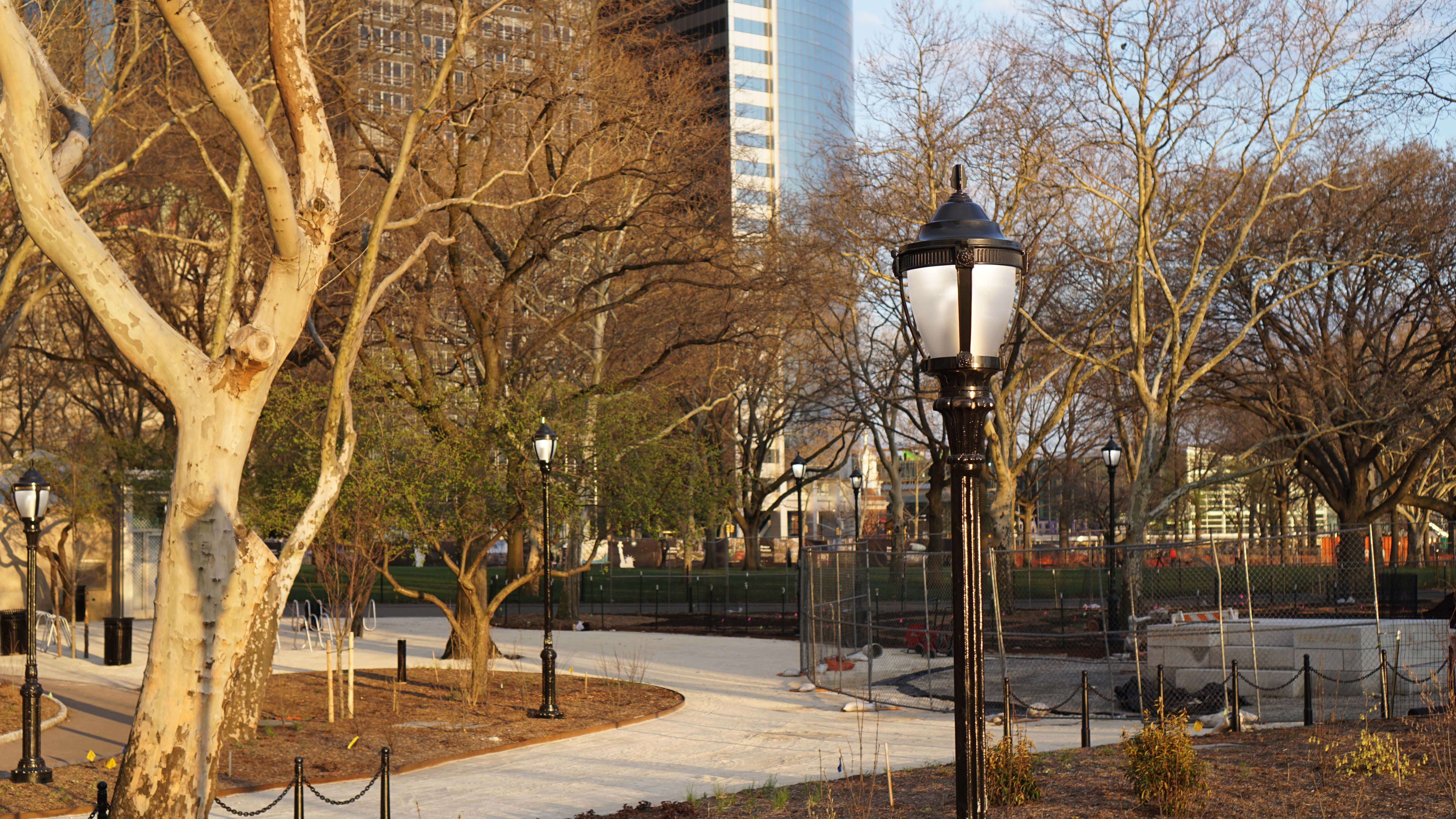 Battery Park Conservancy open 2