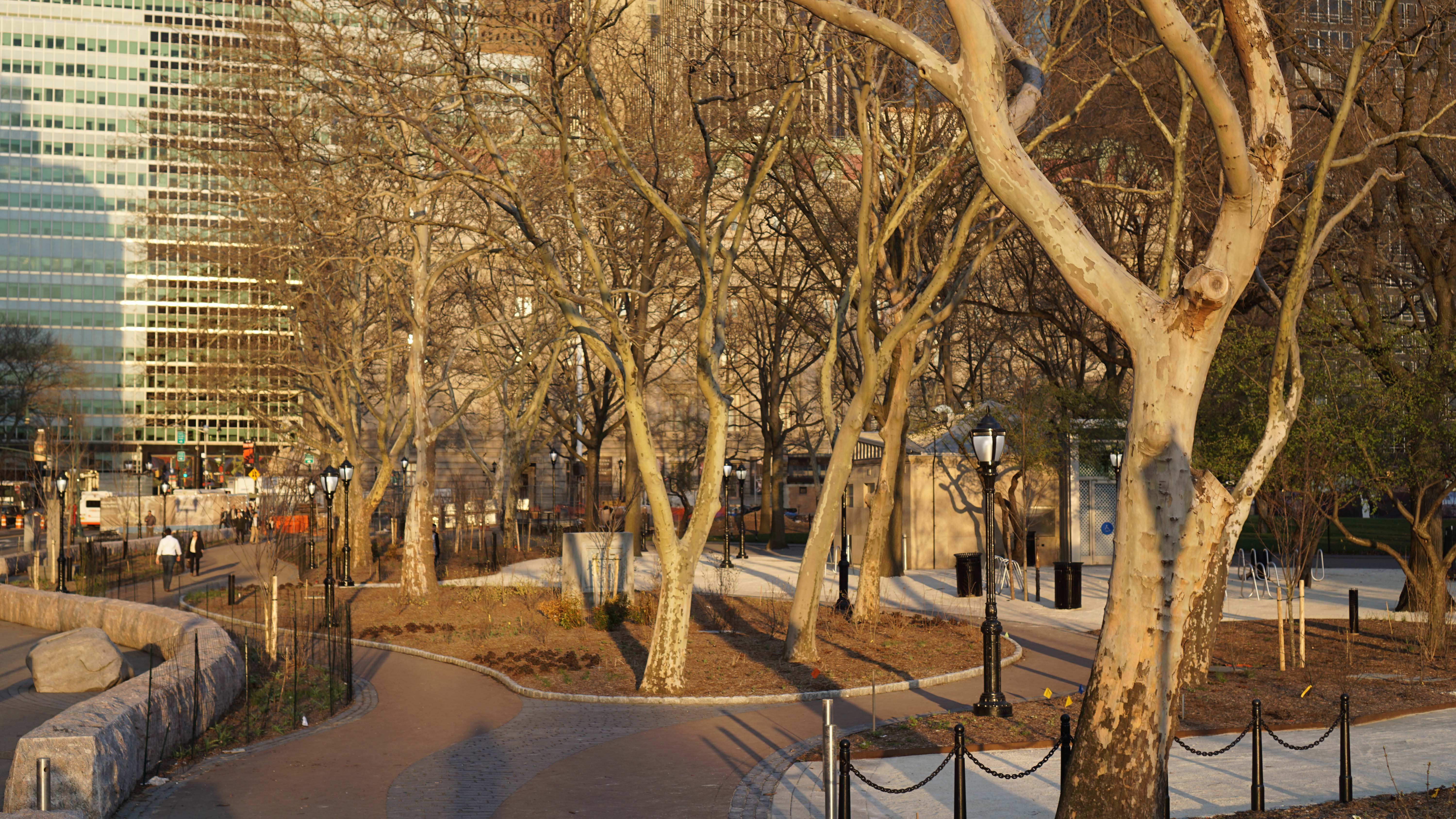 Battery Park Conservancy open 4