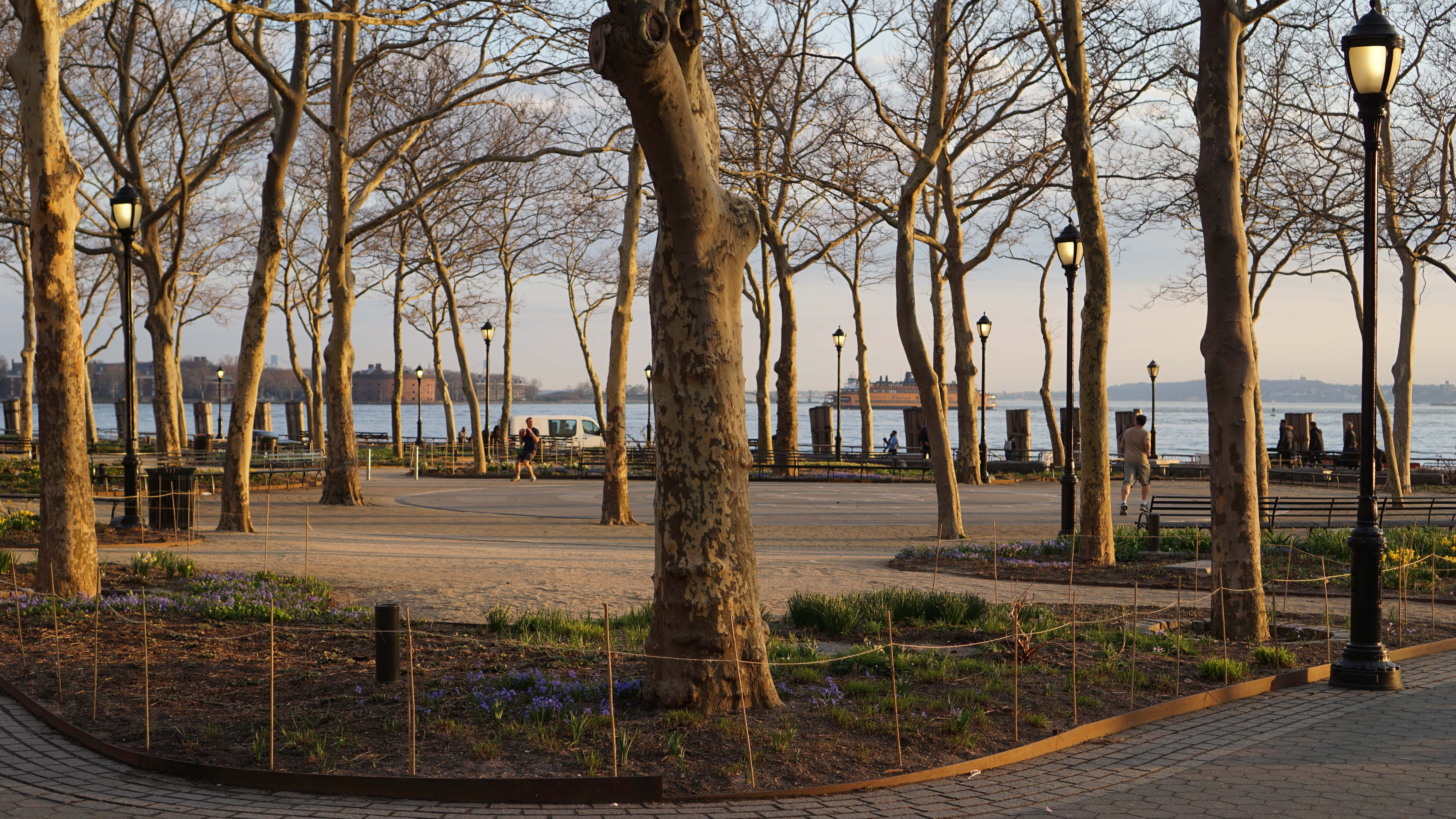 Battery Park Conservancy open 7