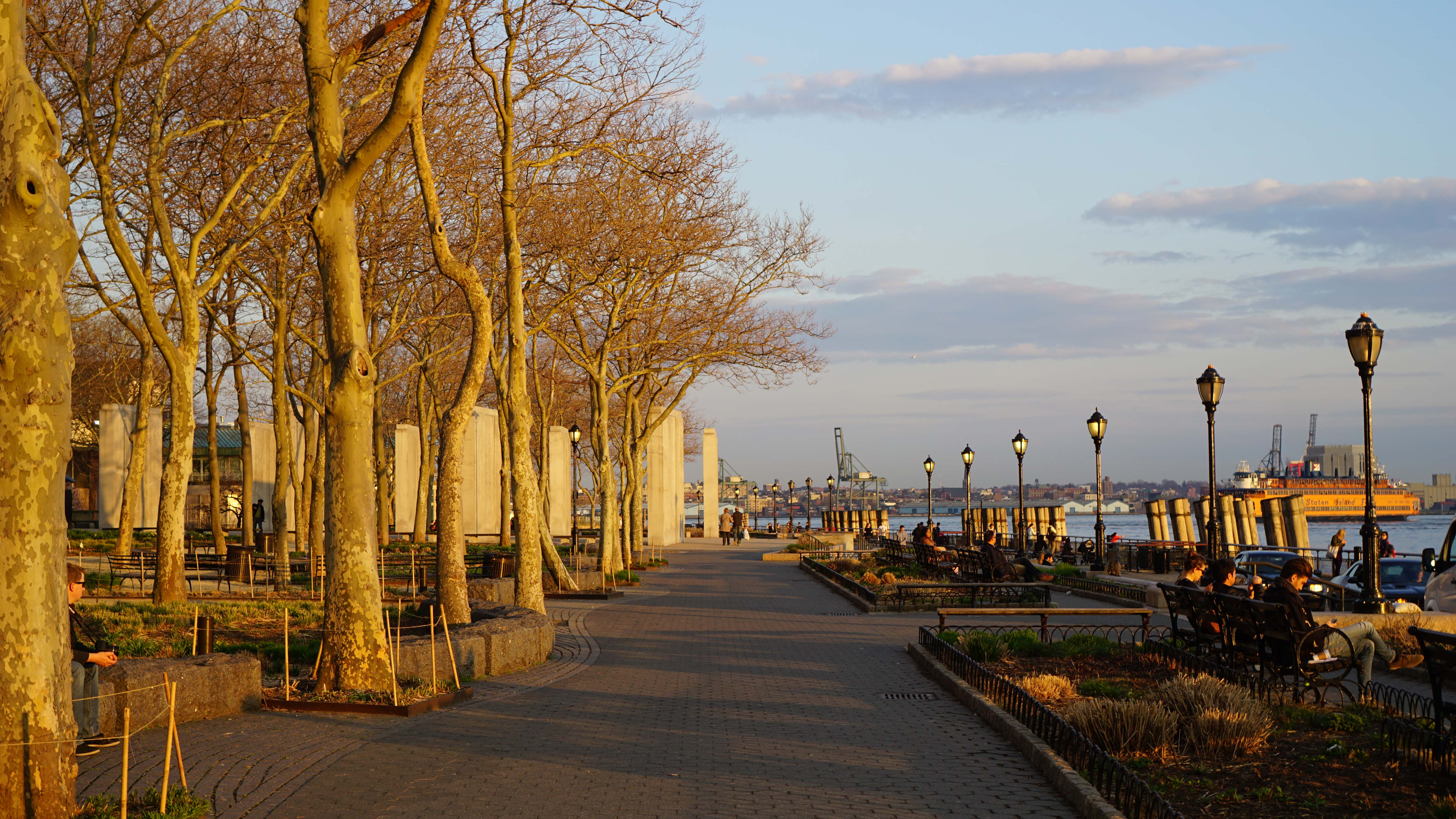 Battery Park Conservancy open 9