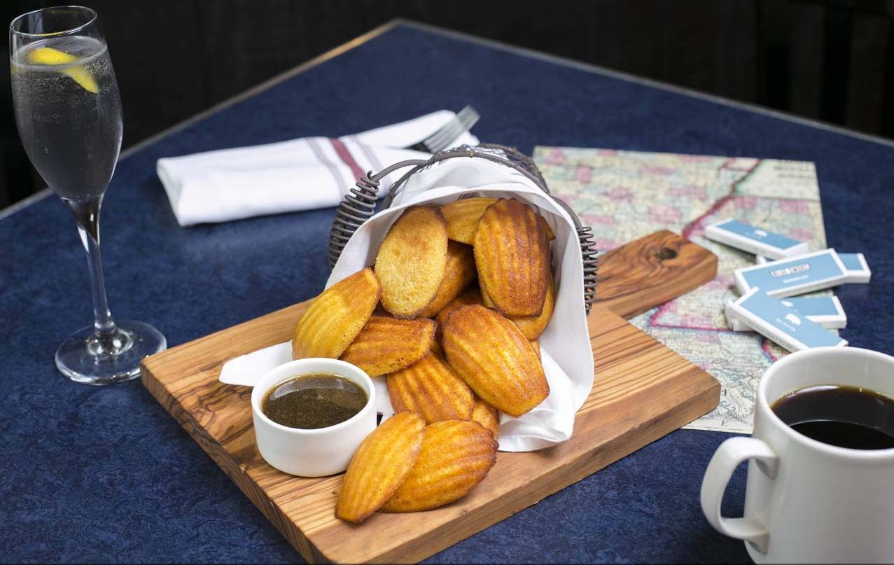 Blue Smoke corn bread
