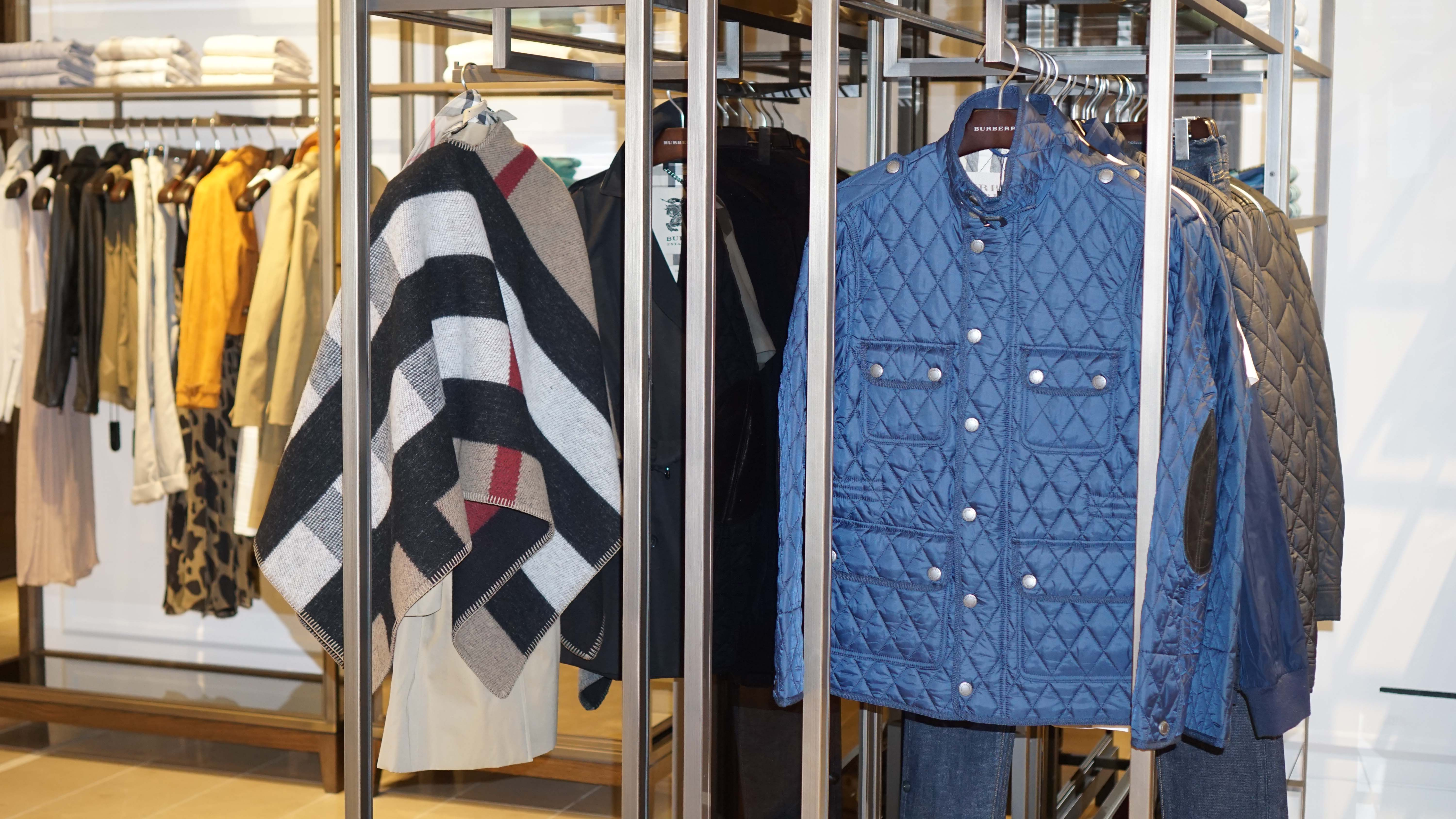 Burberry blue coat