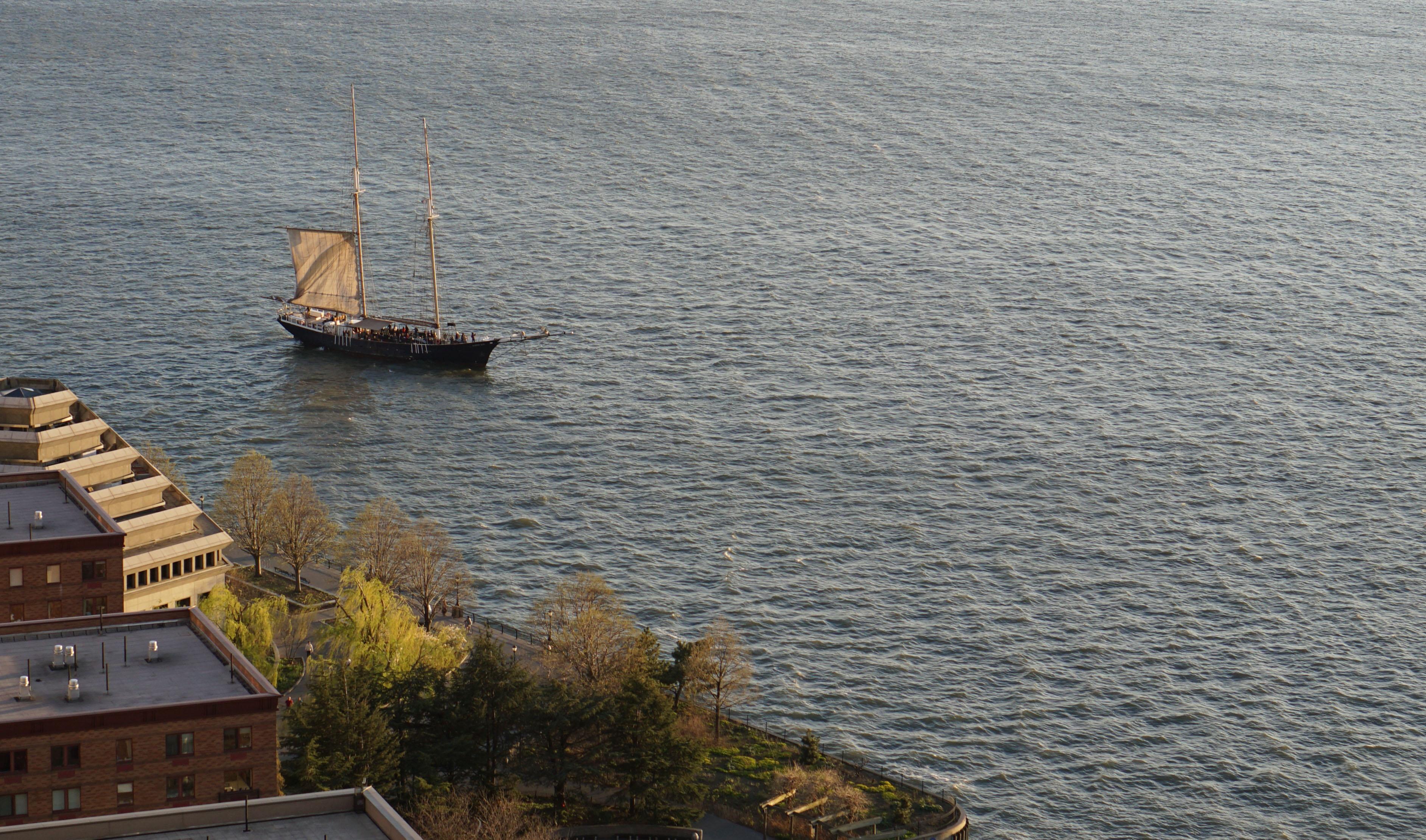 Clipper in New York Harbor 4-28-2015