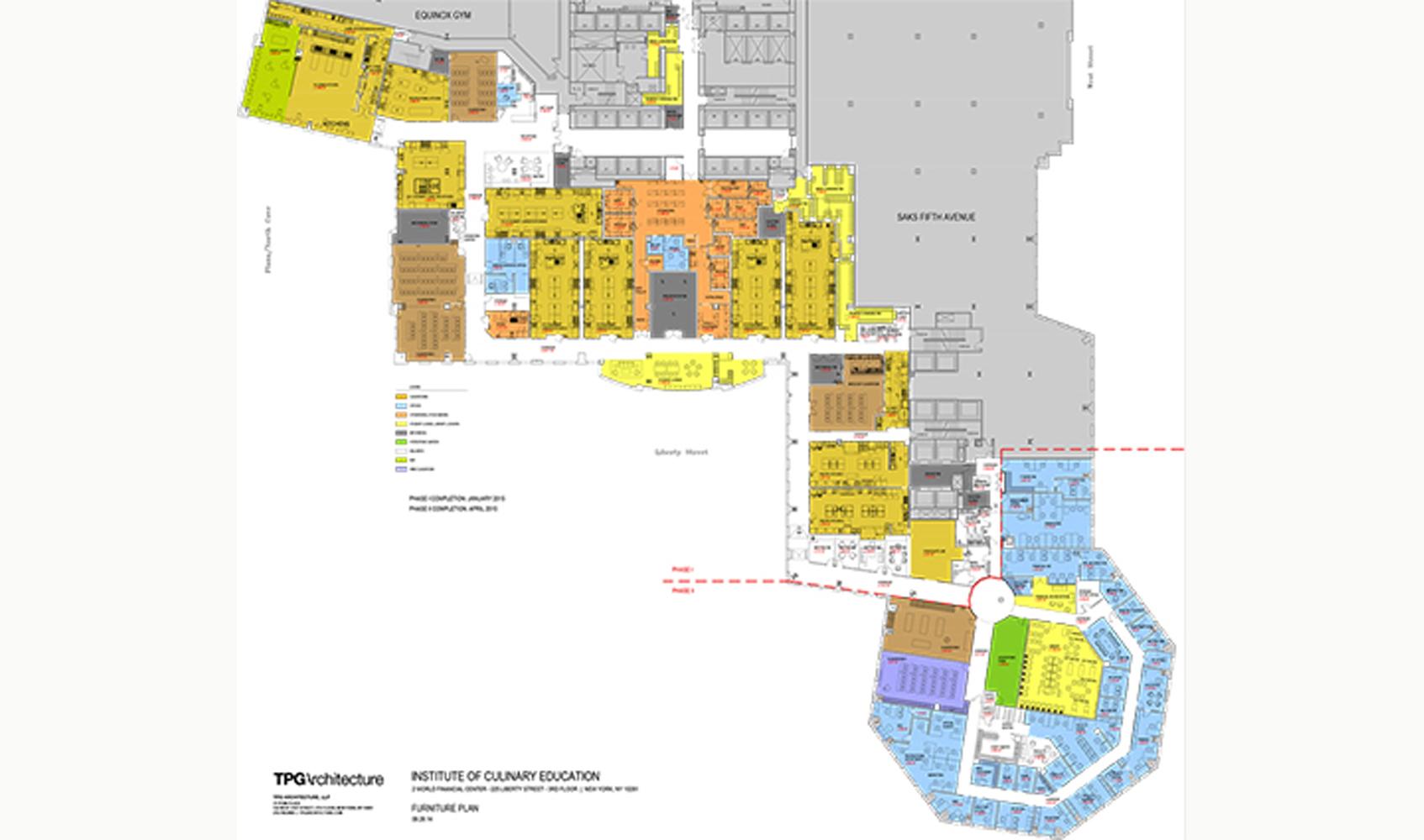 ICE culinary brookfield floor plan