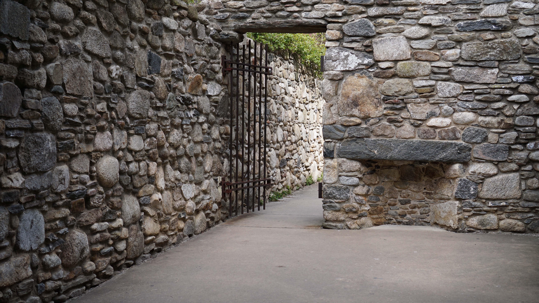 Irish Memorial stone house inside