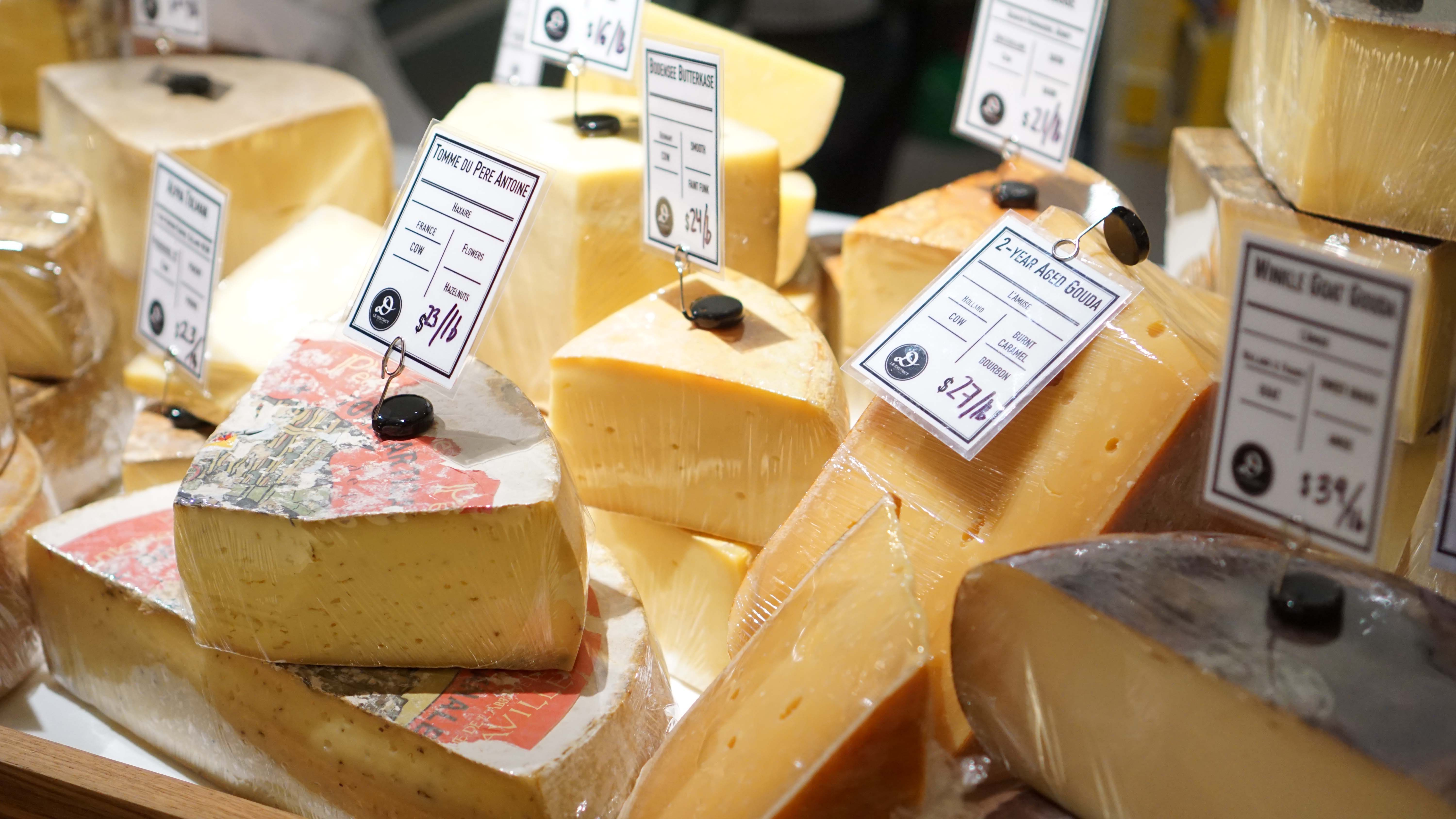 Le District Fromagerie cheese 1