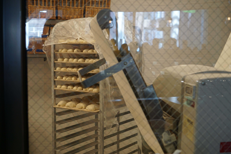Le District bakery racks