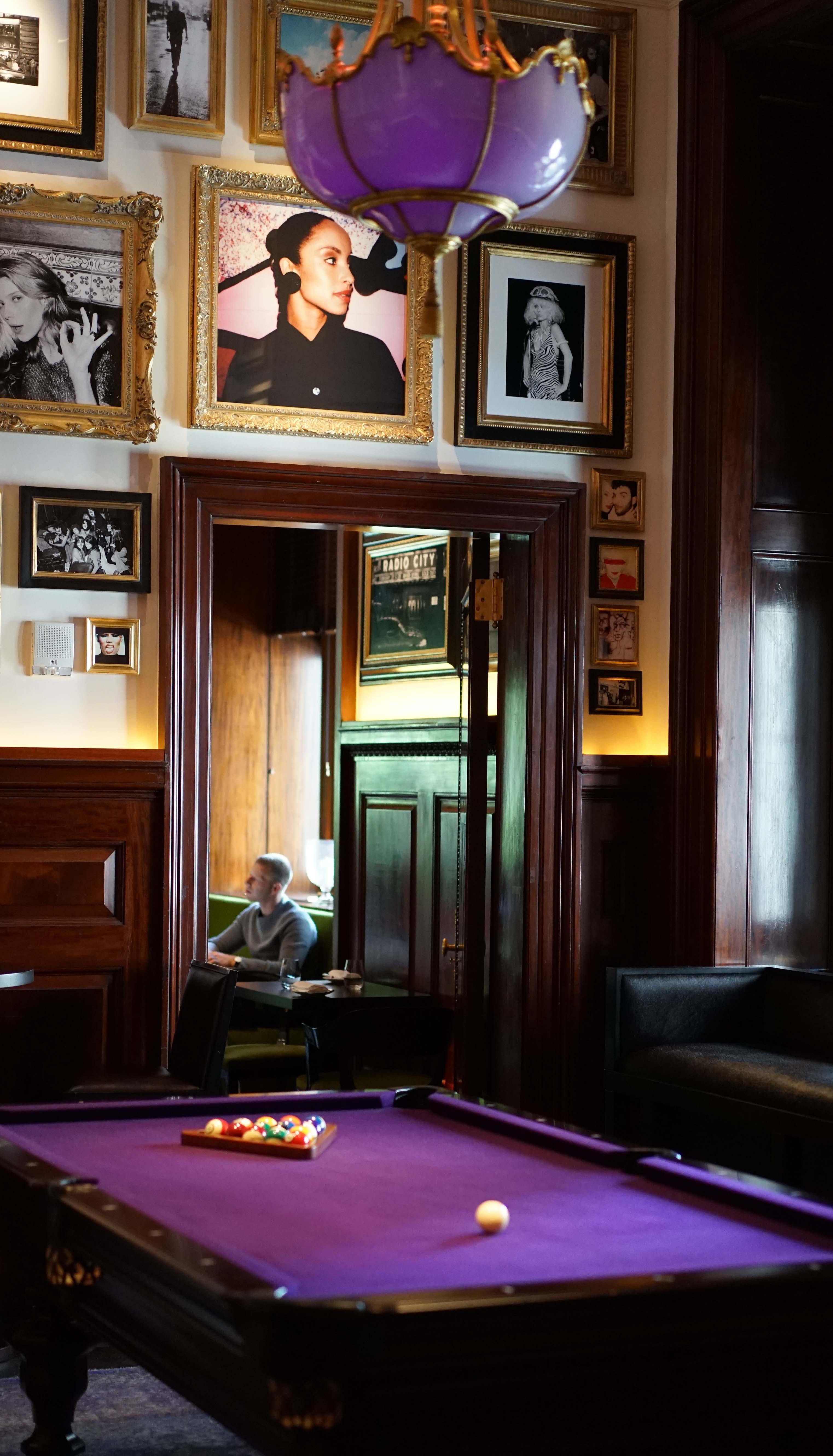 Clocktower billiard room