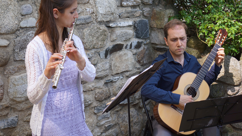 Irish Memorial flute guitar