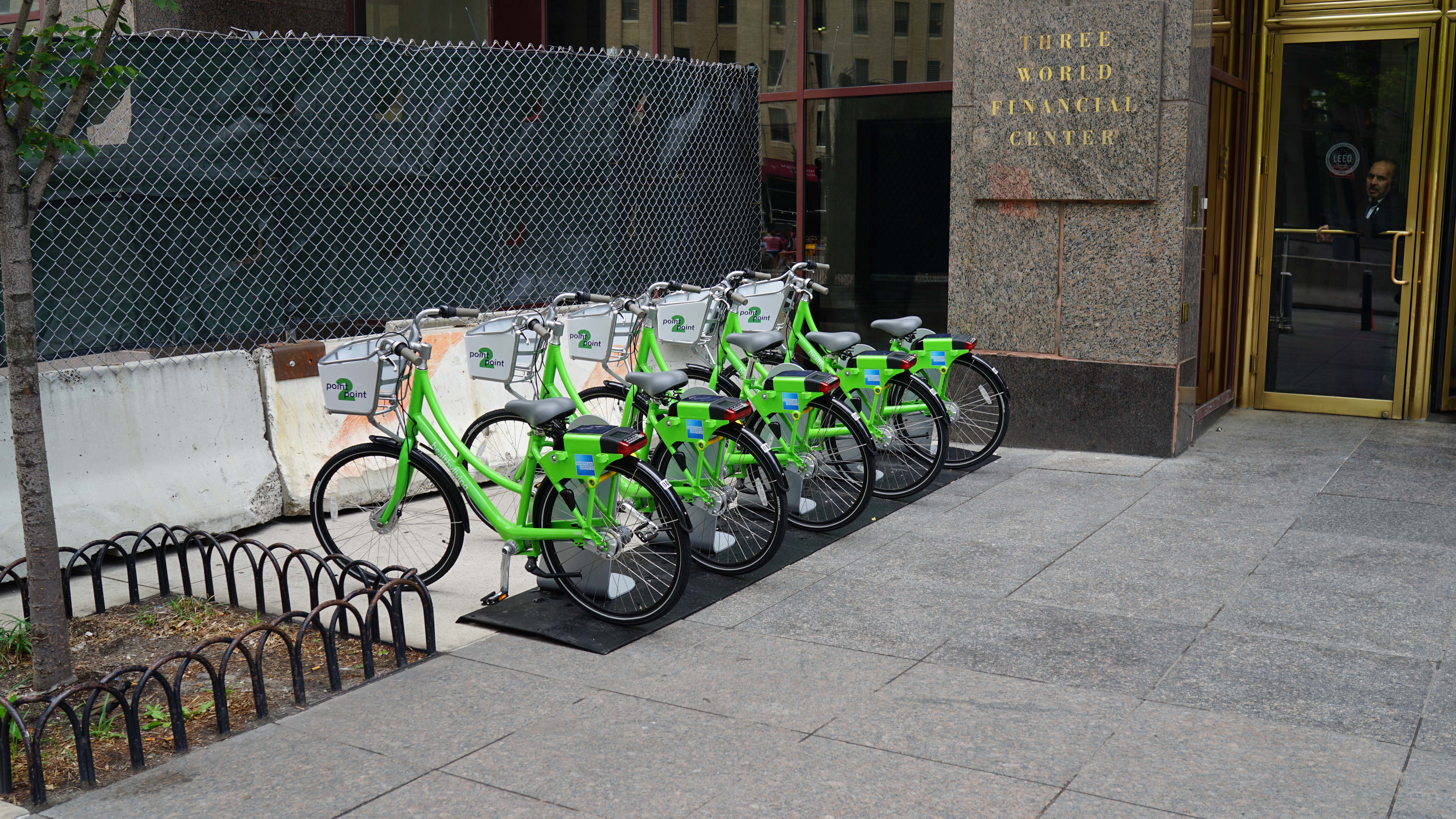 American Express point to point bikes