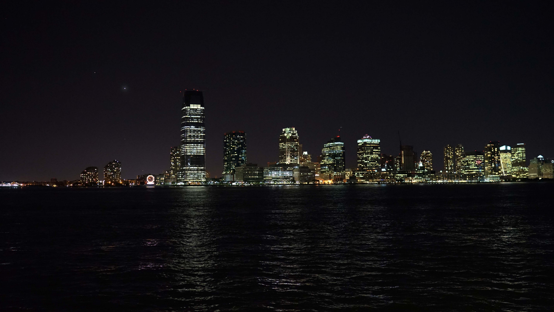 Jersey city night