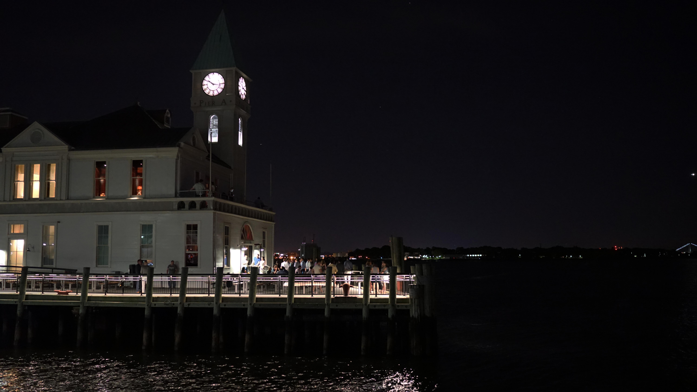 Pier A outdoor night