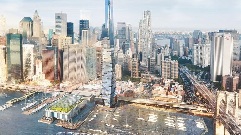 South-Street-Seaport Tower revised plan