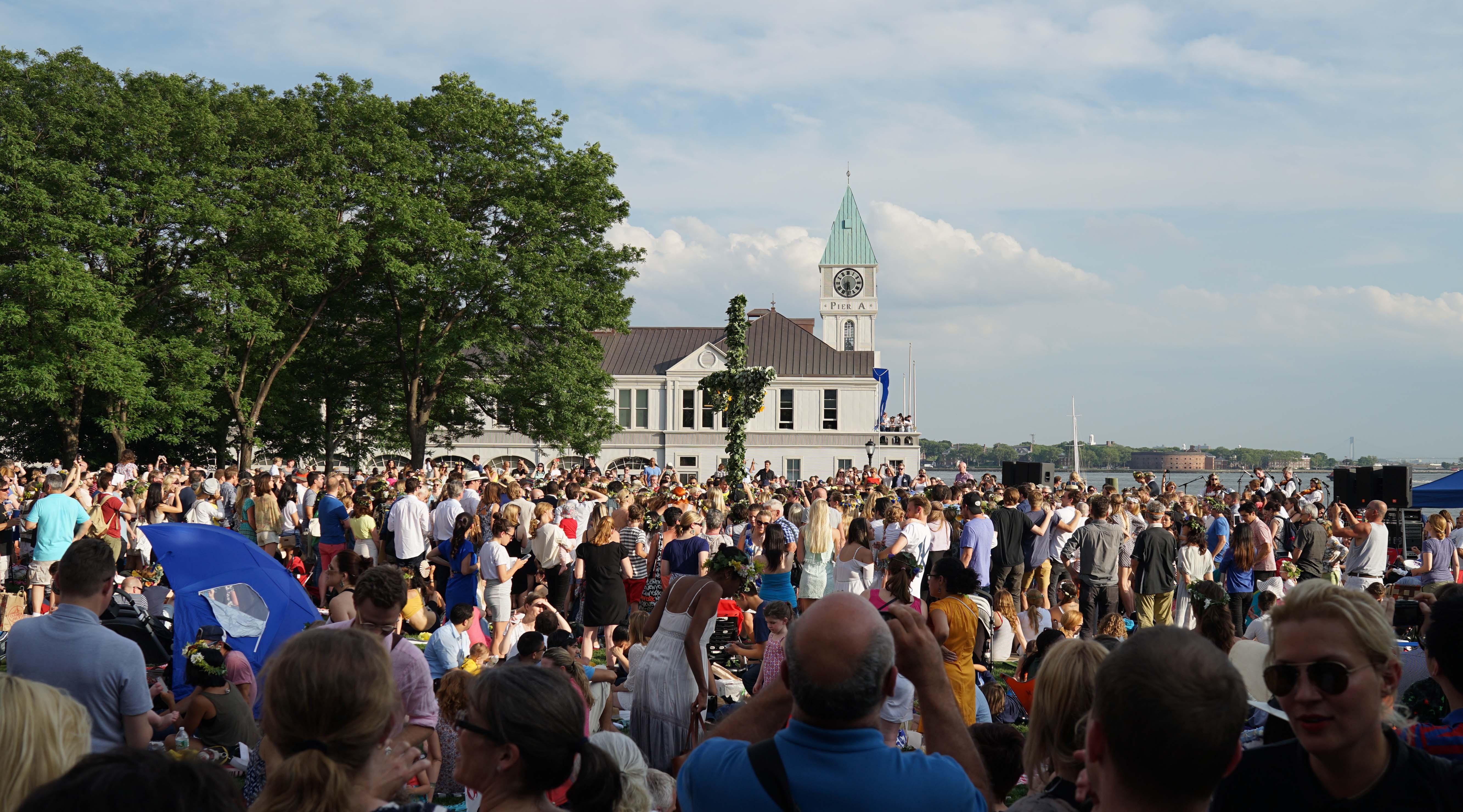 Swedish festival Pier A