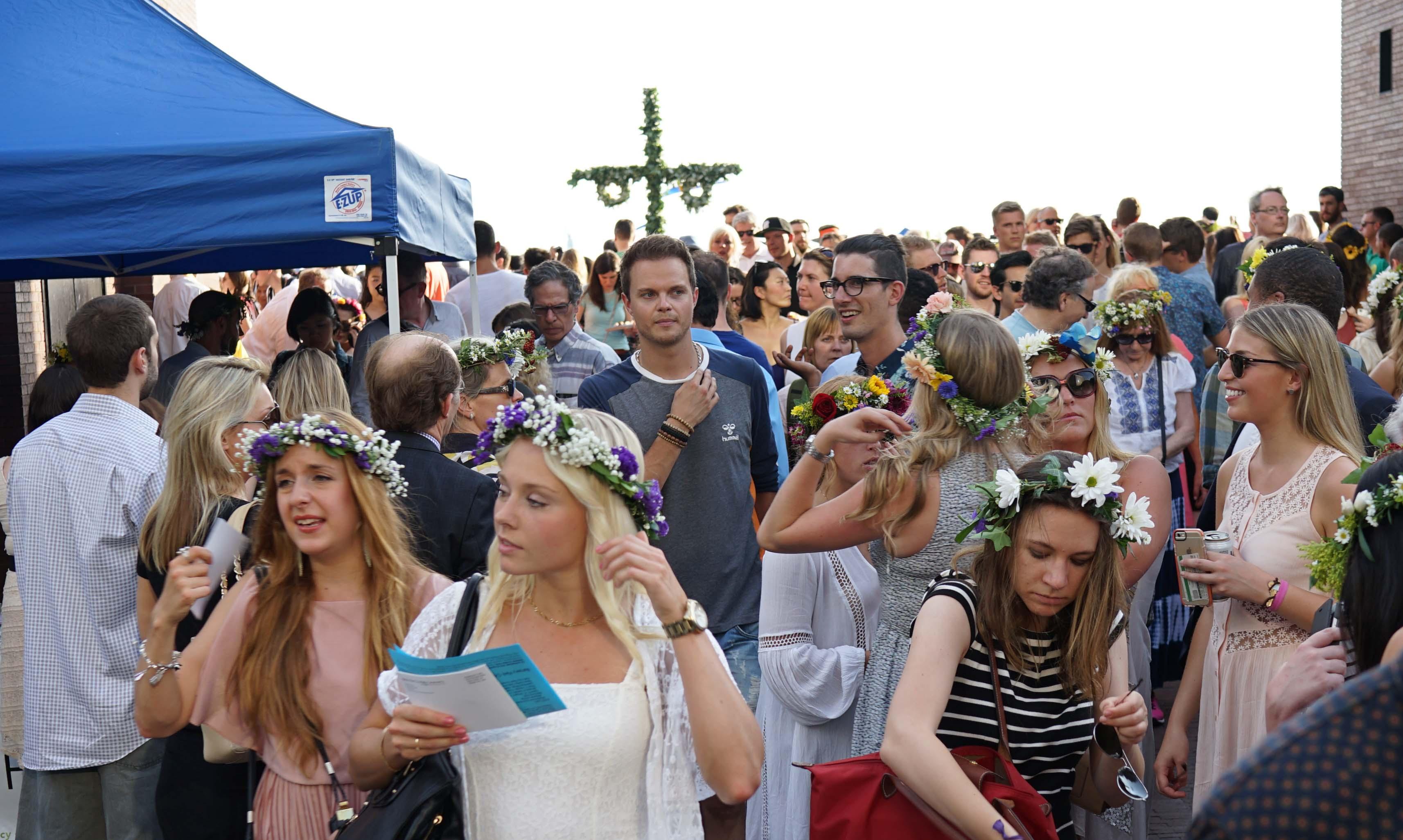 Swedish festival blond girl 1