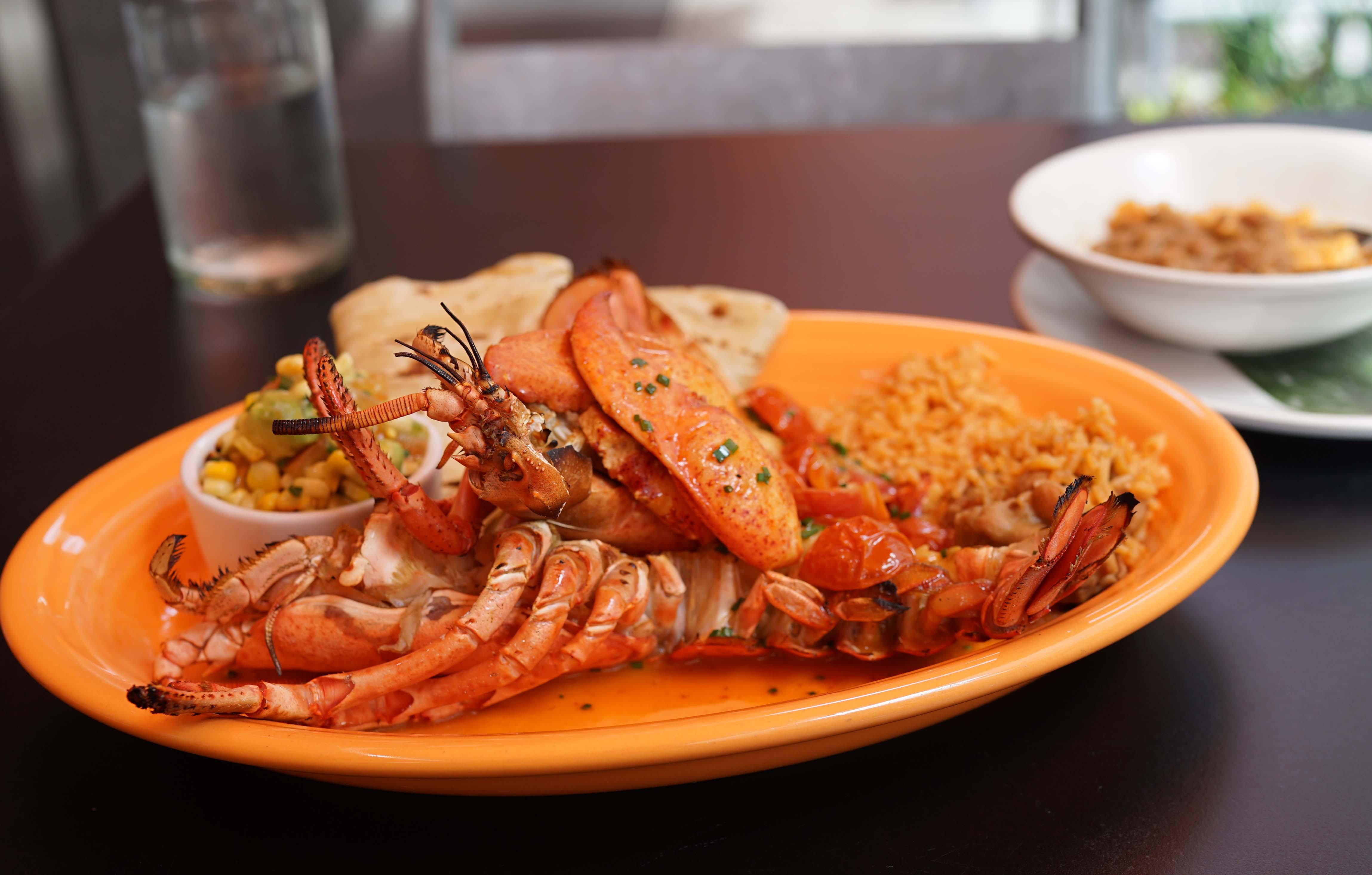 El Vez lobster side