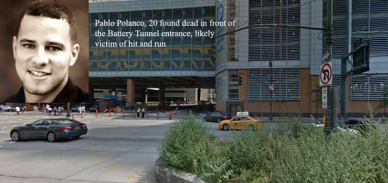 Pablo and battery tunnel