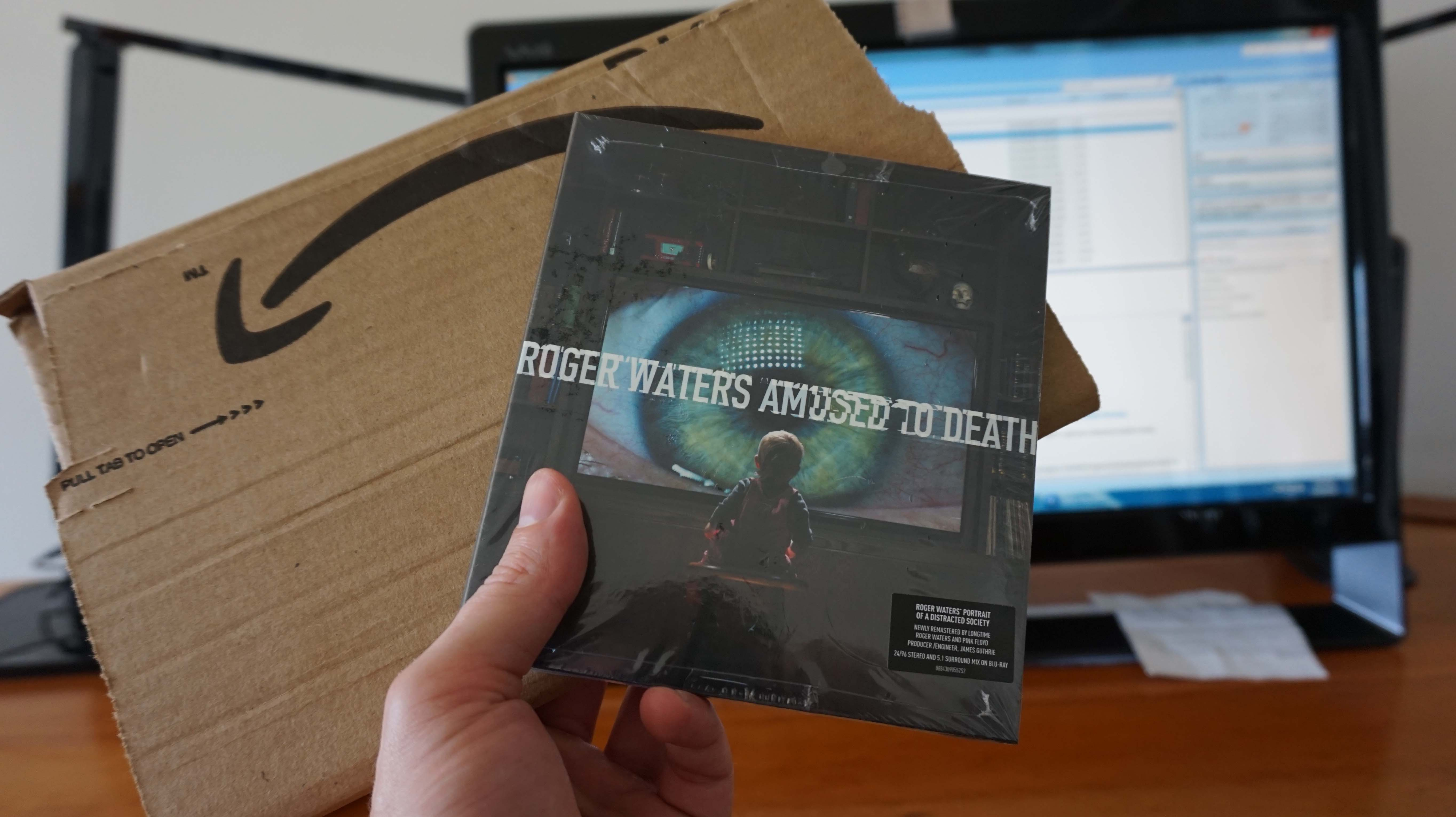 Roger Waters Amused to Death arrives