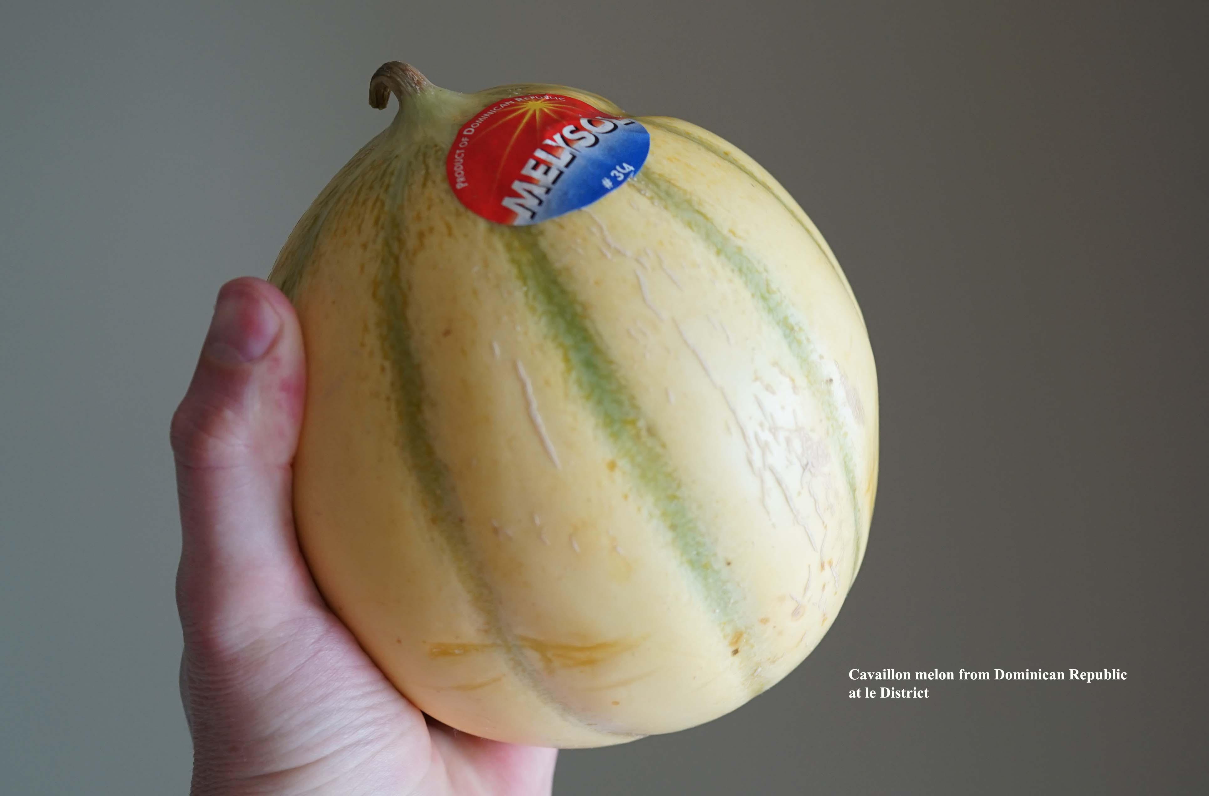 Cavaillon melon Le District