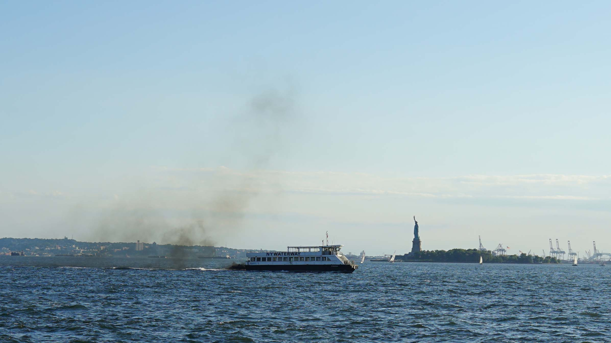 NY Waterway polluting 8-9-2015