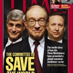Rubin Greenspan Summers Time cover 1999