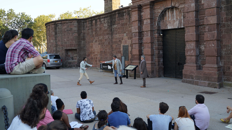 Shakespeare in Battery 3