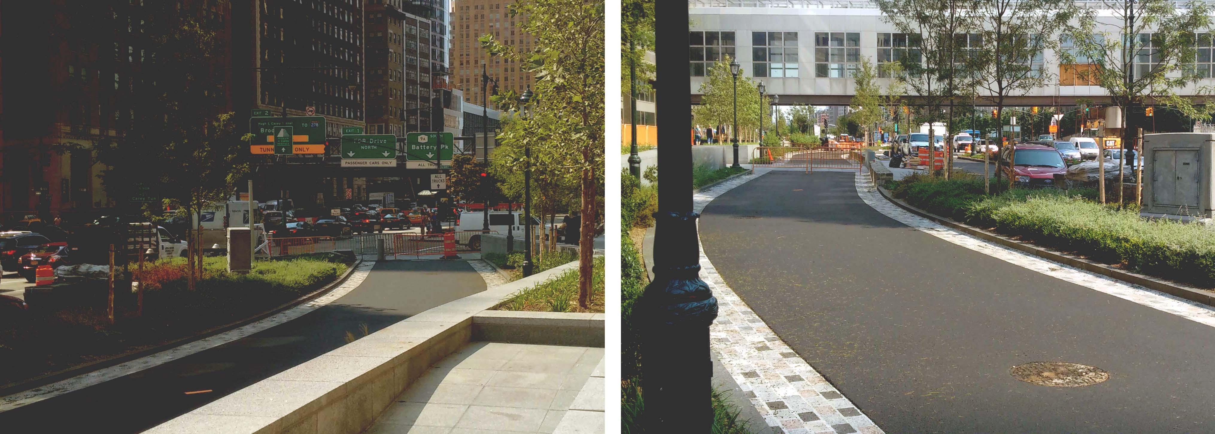 bike path albany liberty paved