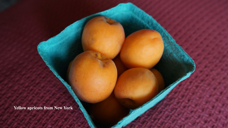 yellow apricots Le District