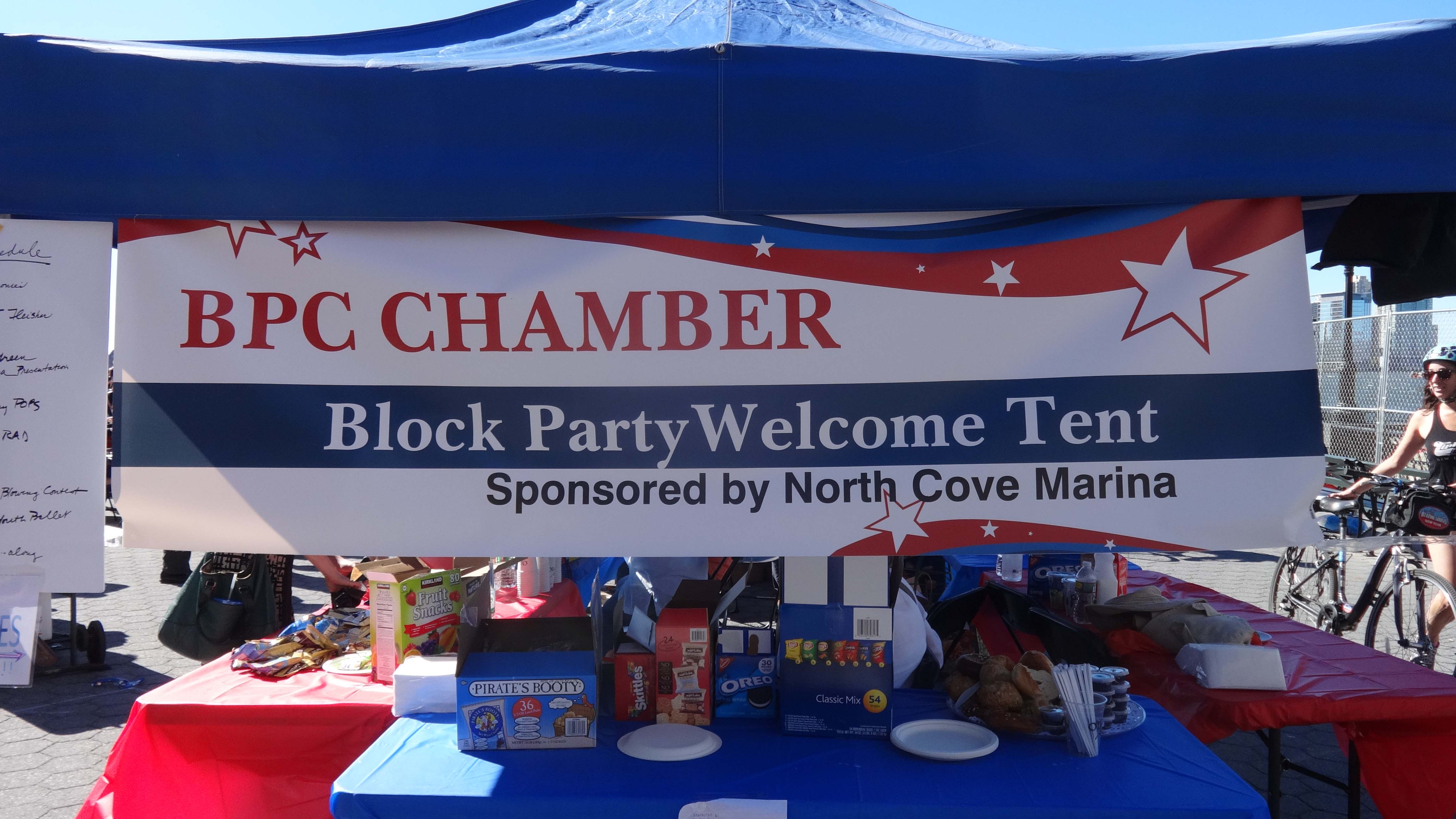 BPC Chamber sign block party