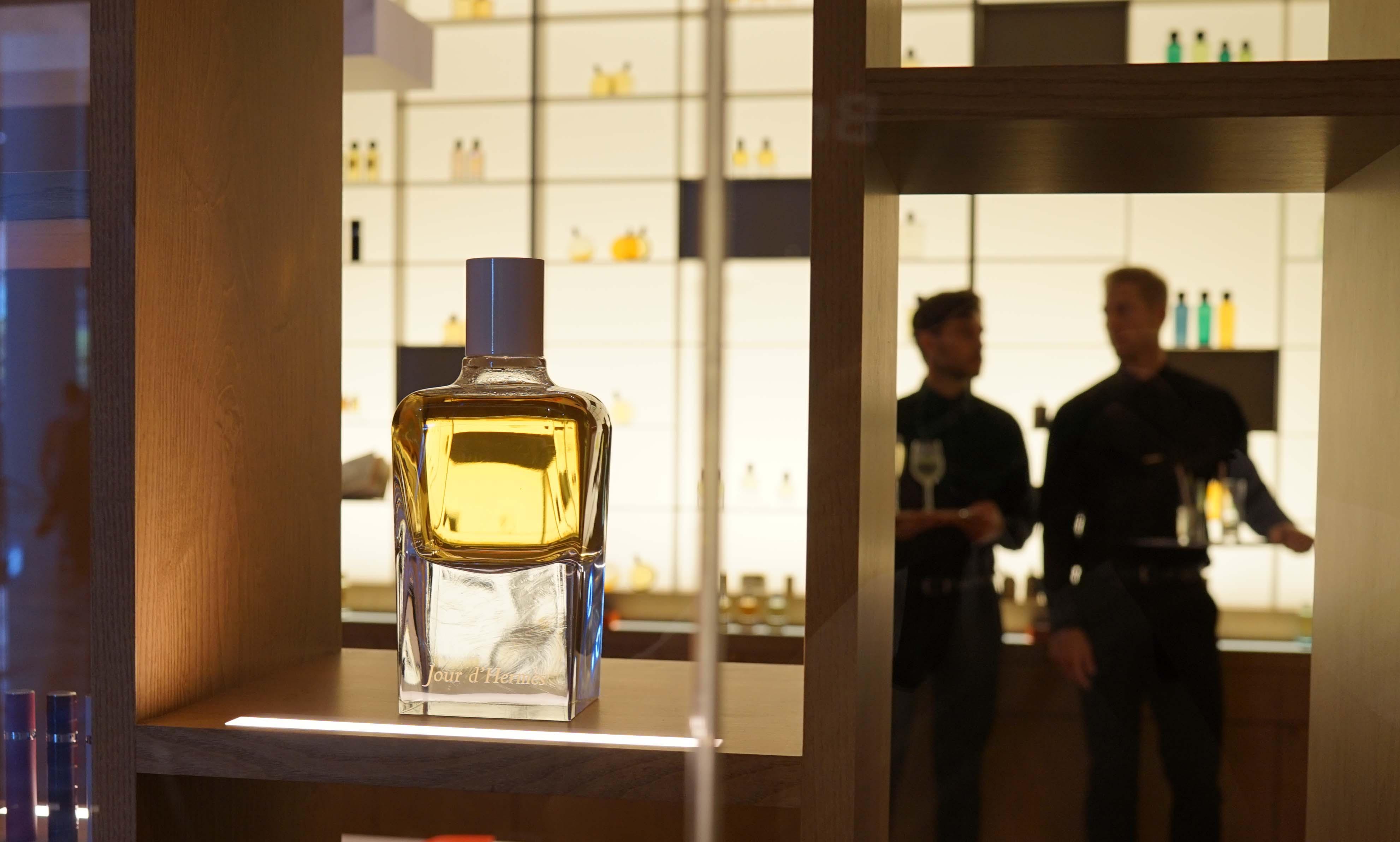 Hermes fragrance bottle