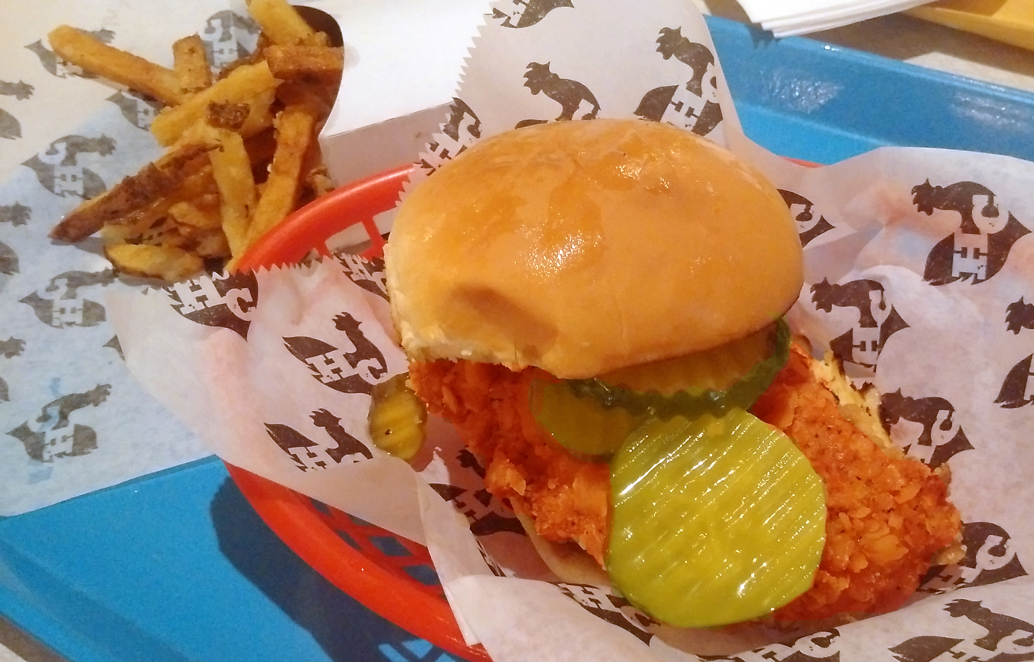 Hill Country fried chicken sandwich