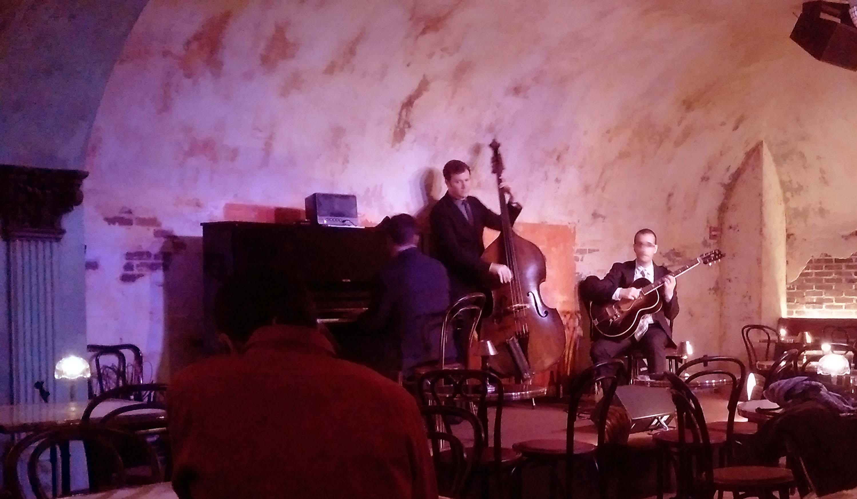 Jazz band at Django
