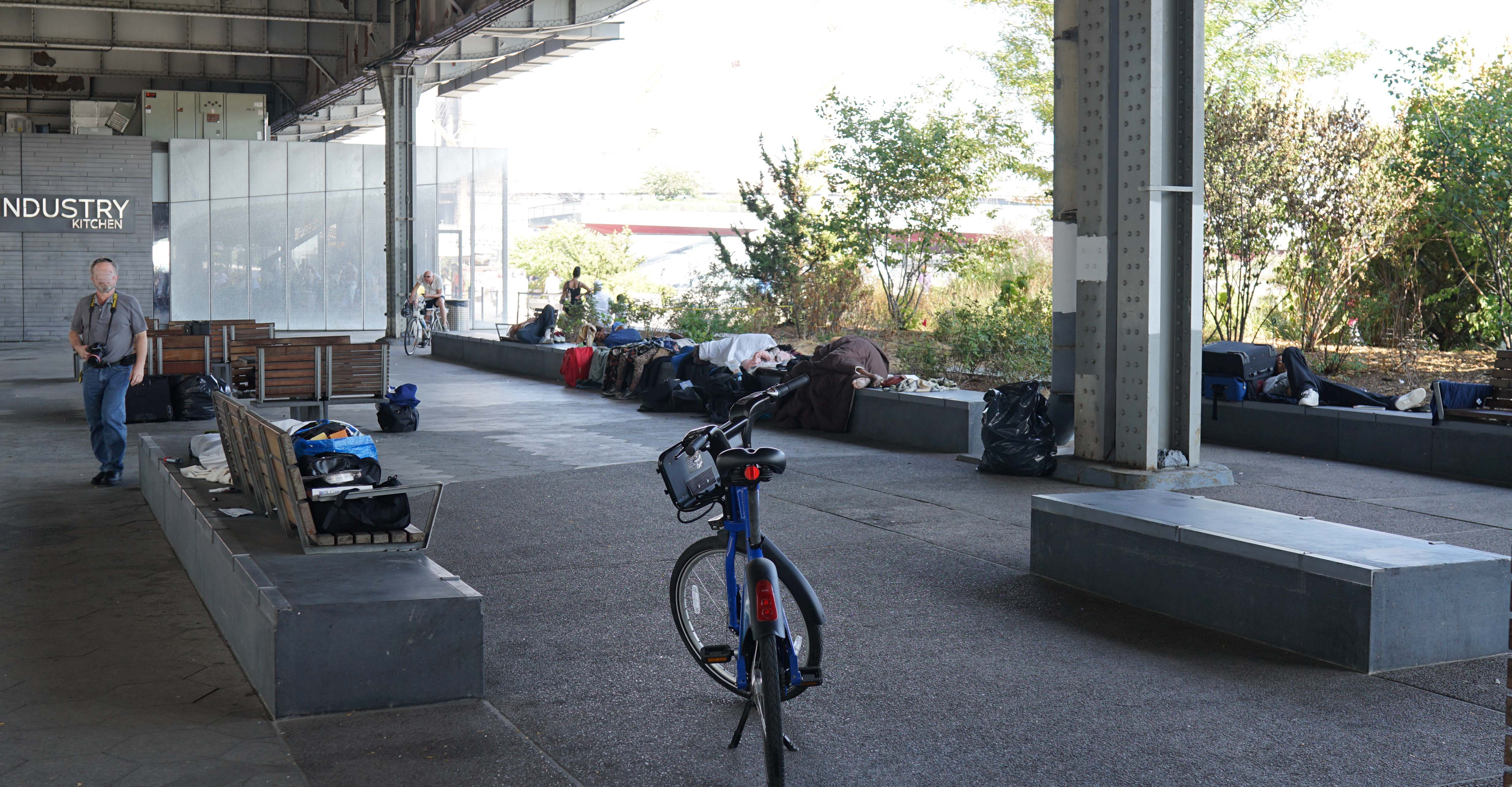 Seaport homeless camp B