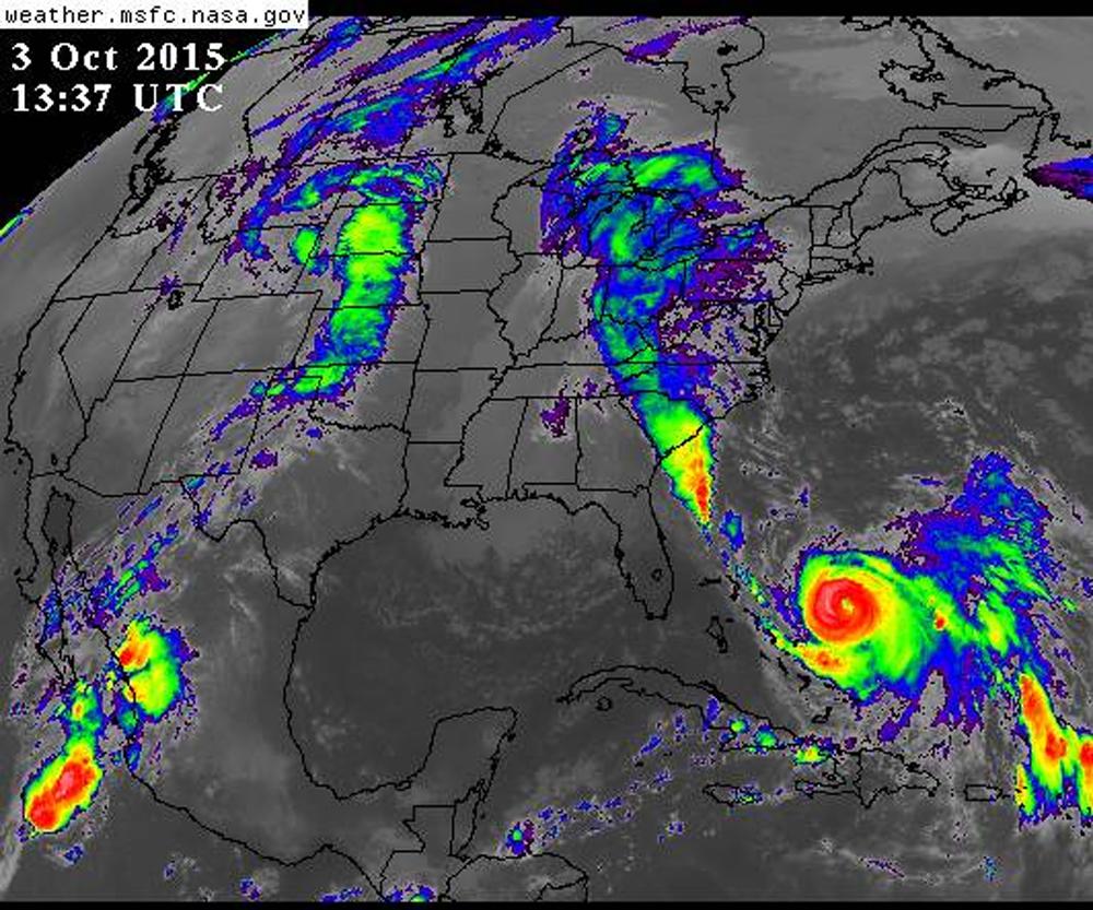 Hurricane Joaquin 10-3 at 930