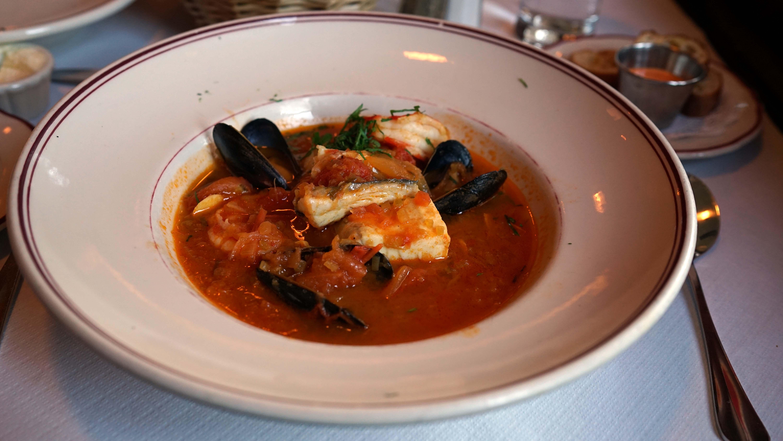 Le Diplomate fish stew