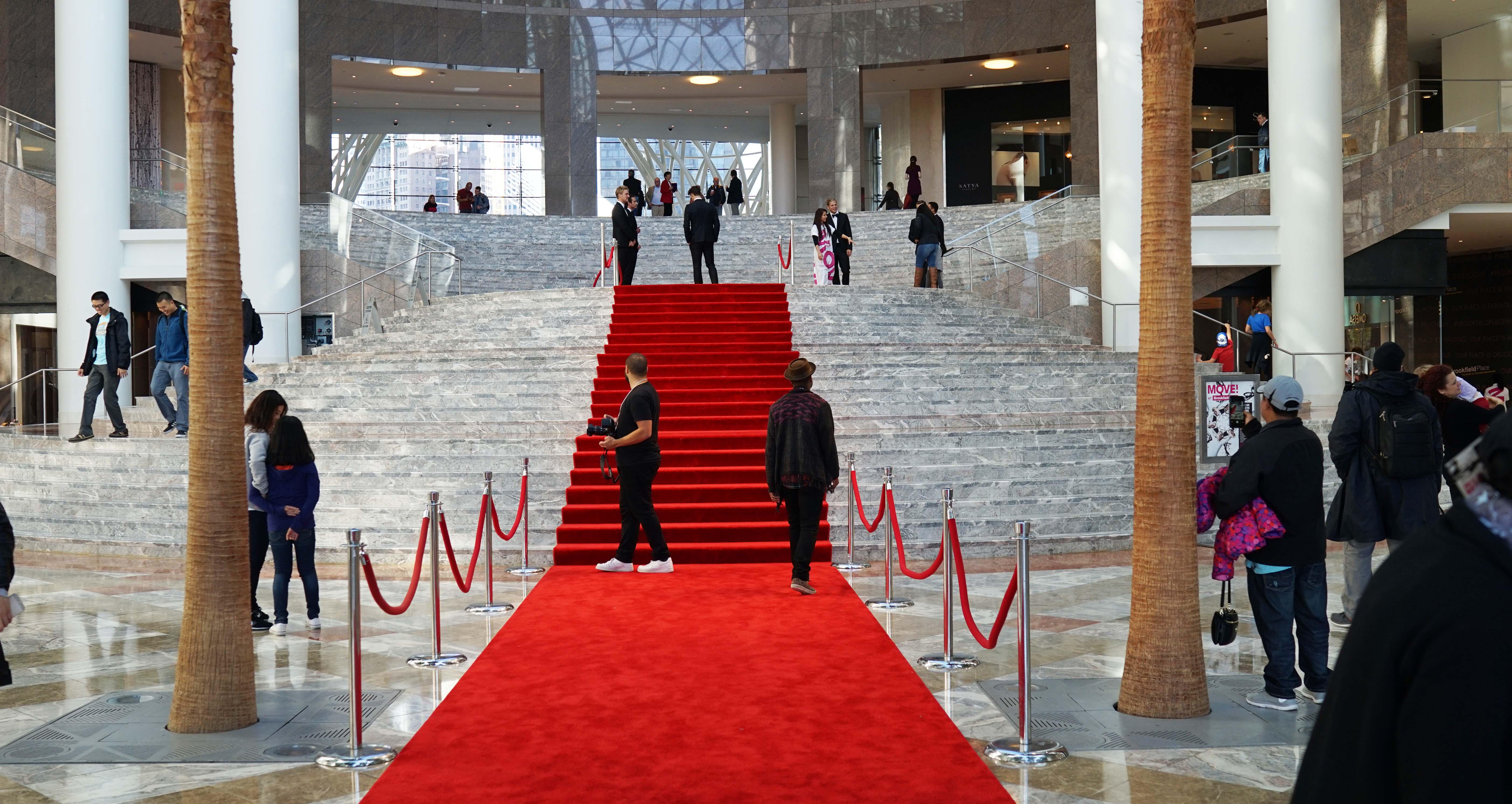 Red carpet Brookfield 10-4-2015
