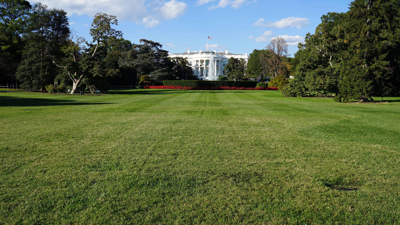 White House south lawn 2015 low