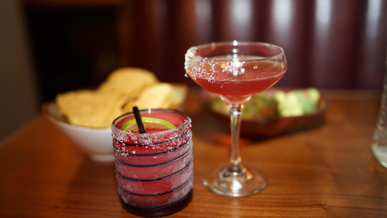 Rosa Mexicano pomegranata frozen drink