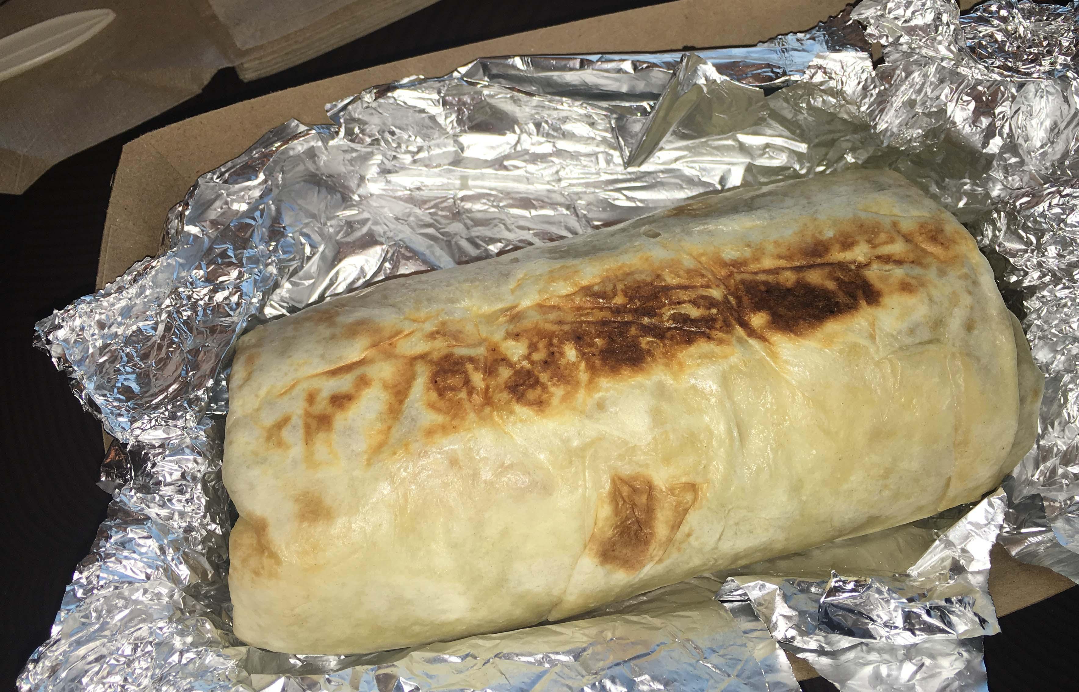 Dos Toros taco toasted