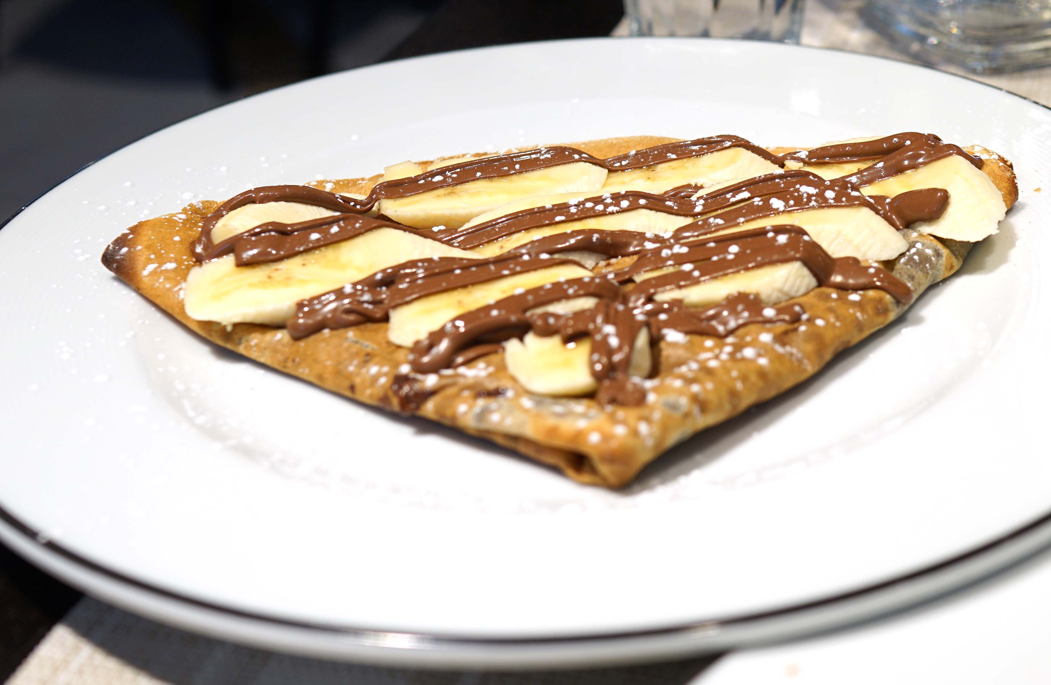 Beaubourg crepe and Nutella
