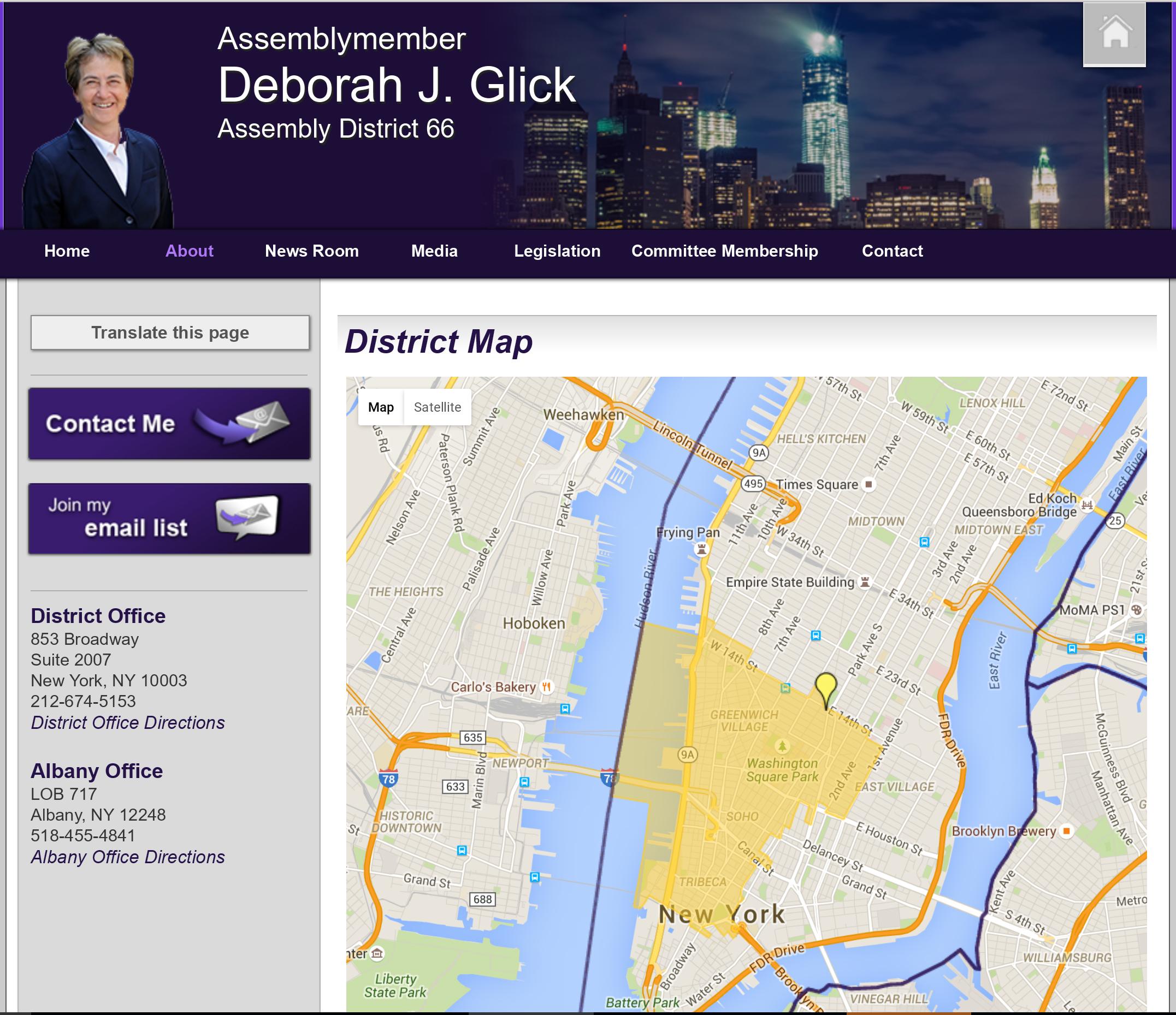 Glicks district