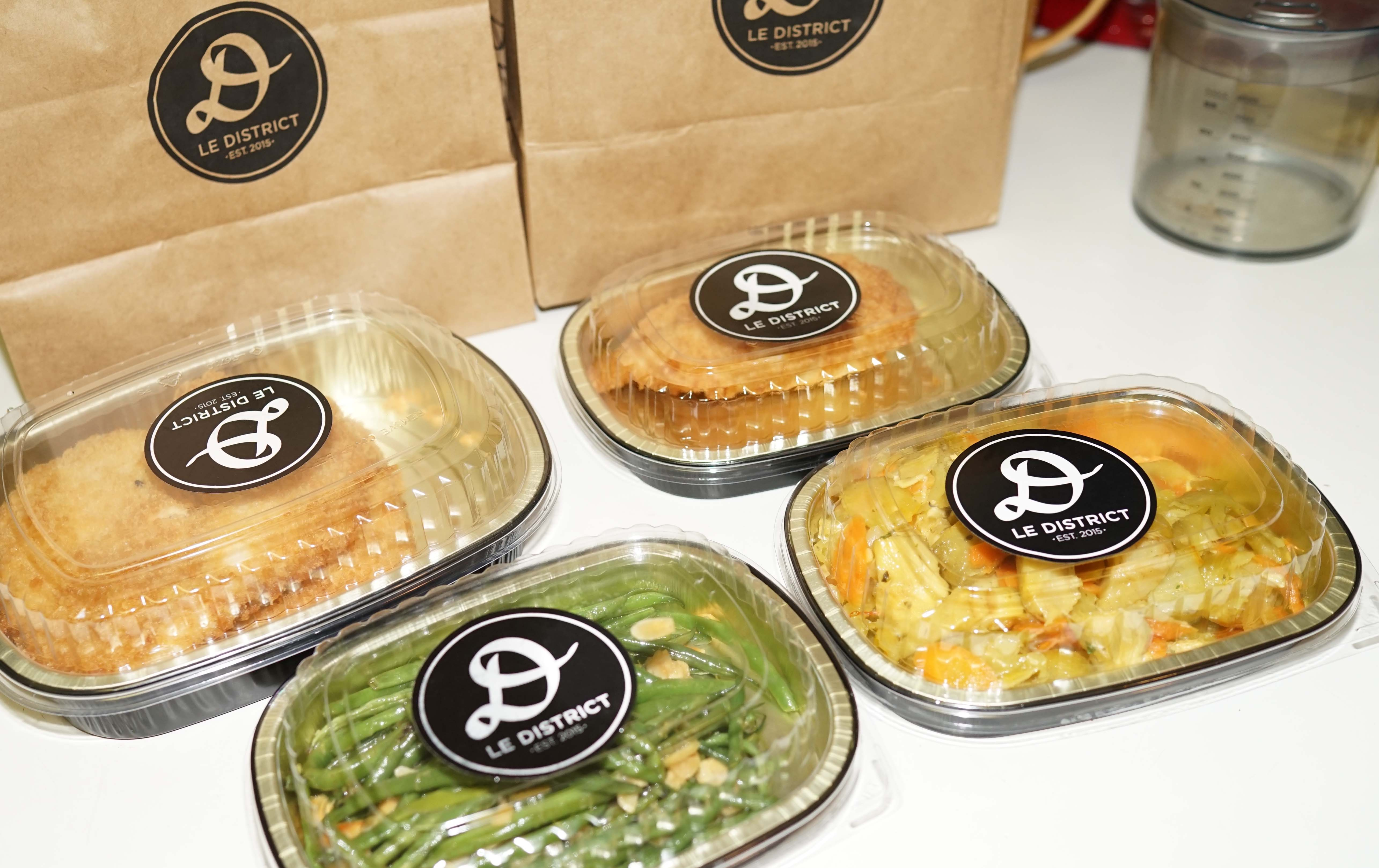Le District prepared food