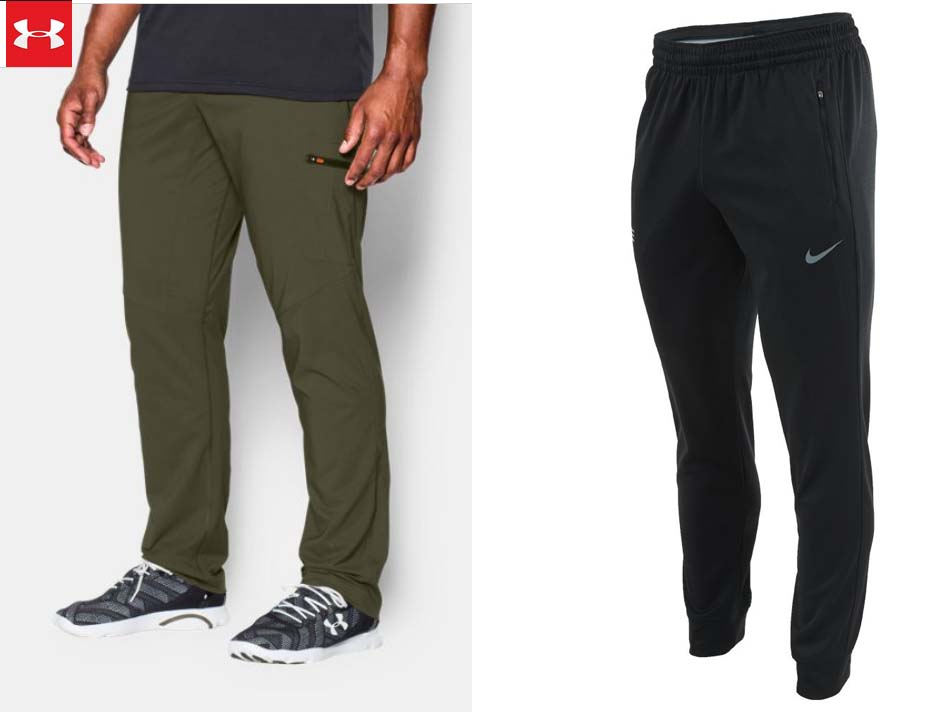 Nike Under Armour joggers