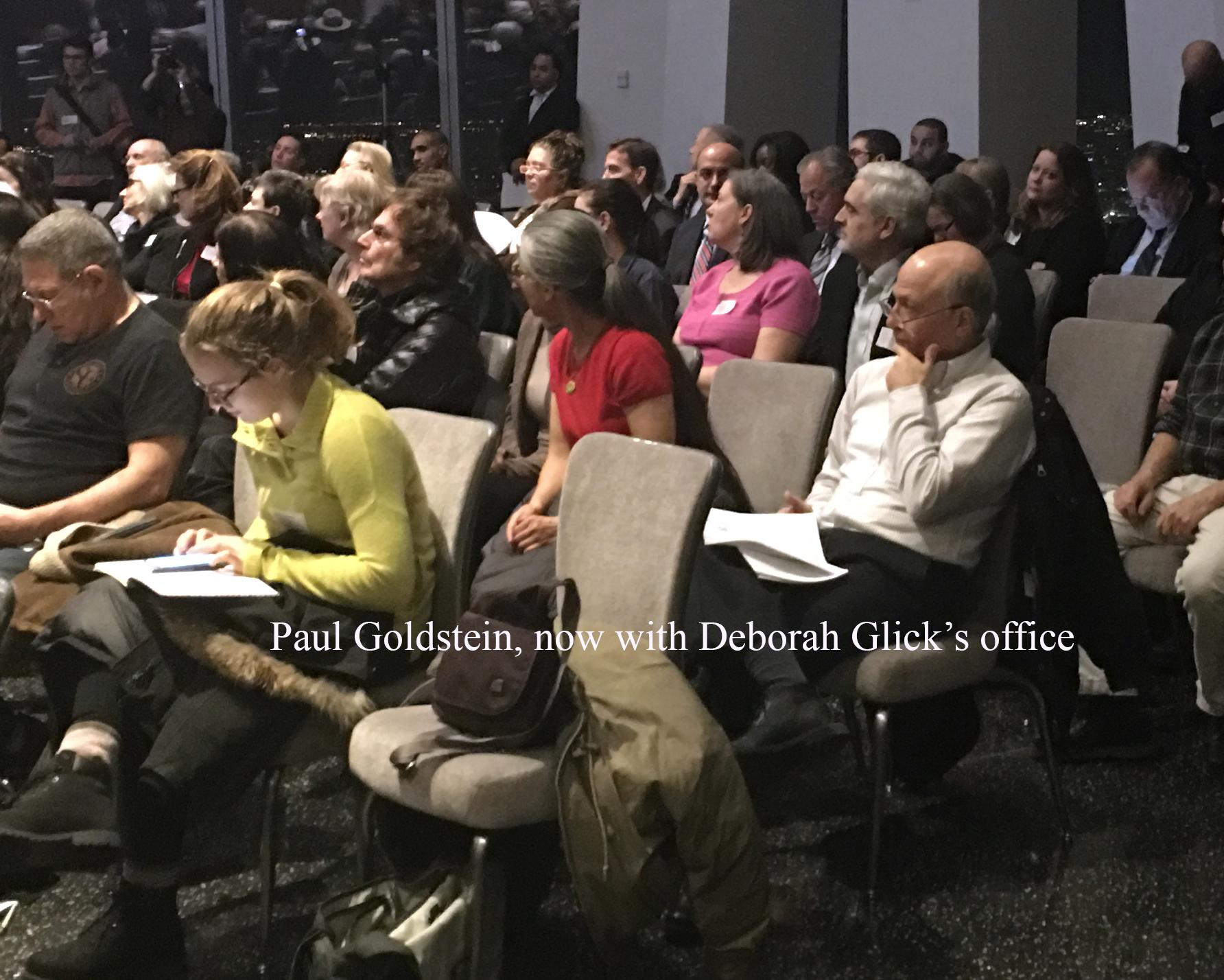 Paul Goldstein at CB1