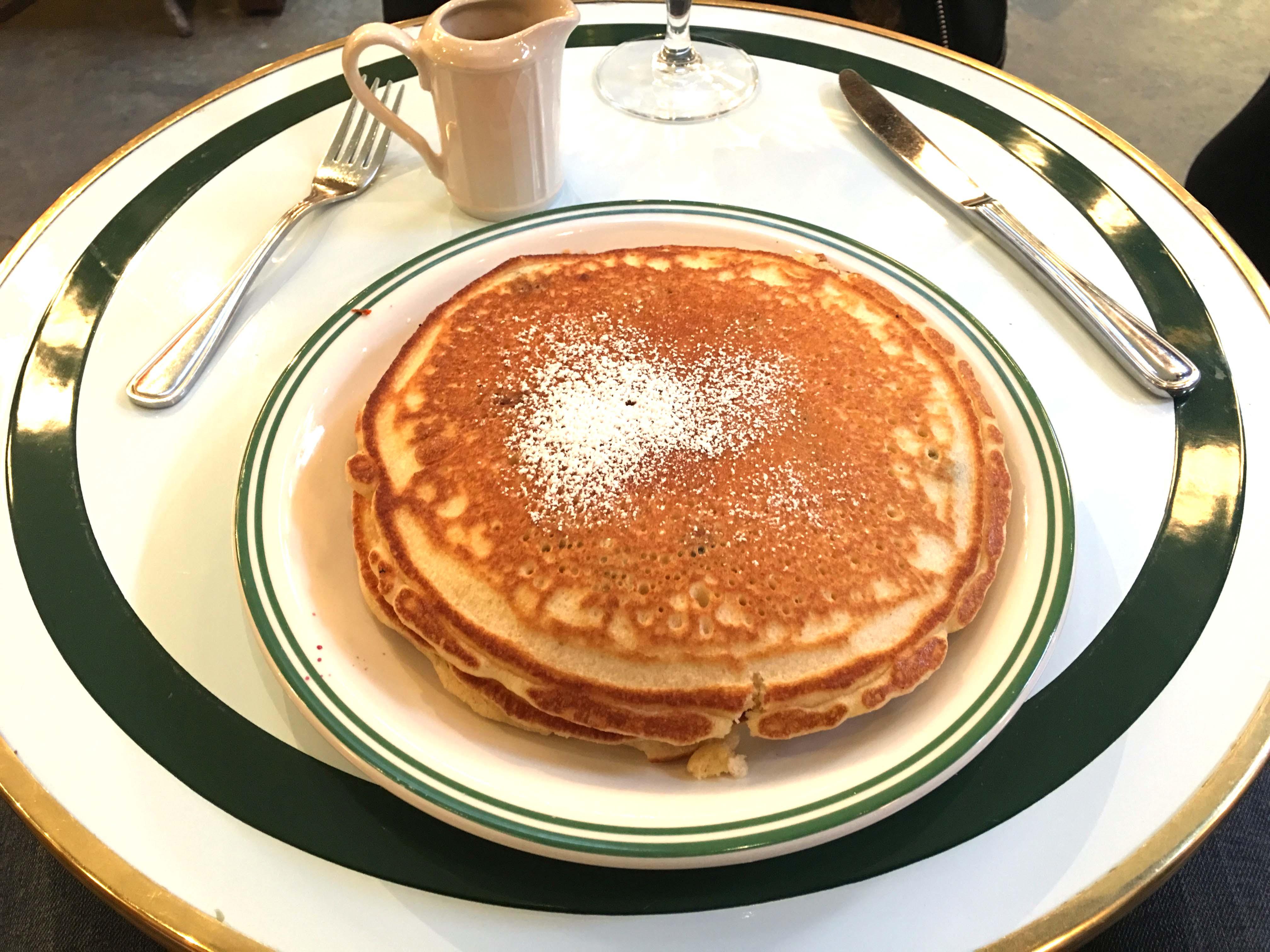 sadelles blueberry pancakes