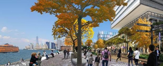 Governors island rendering