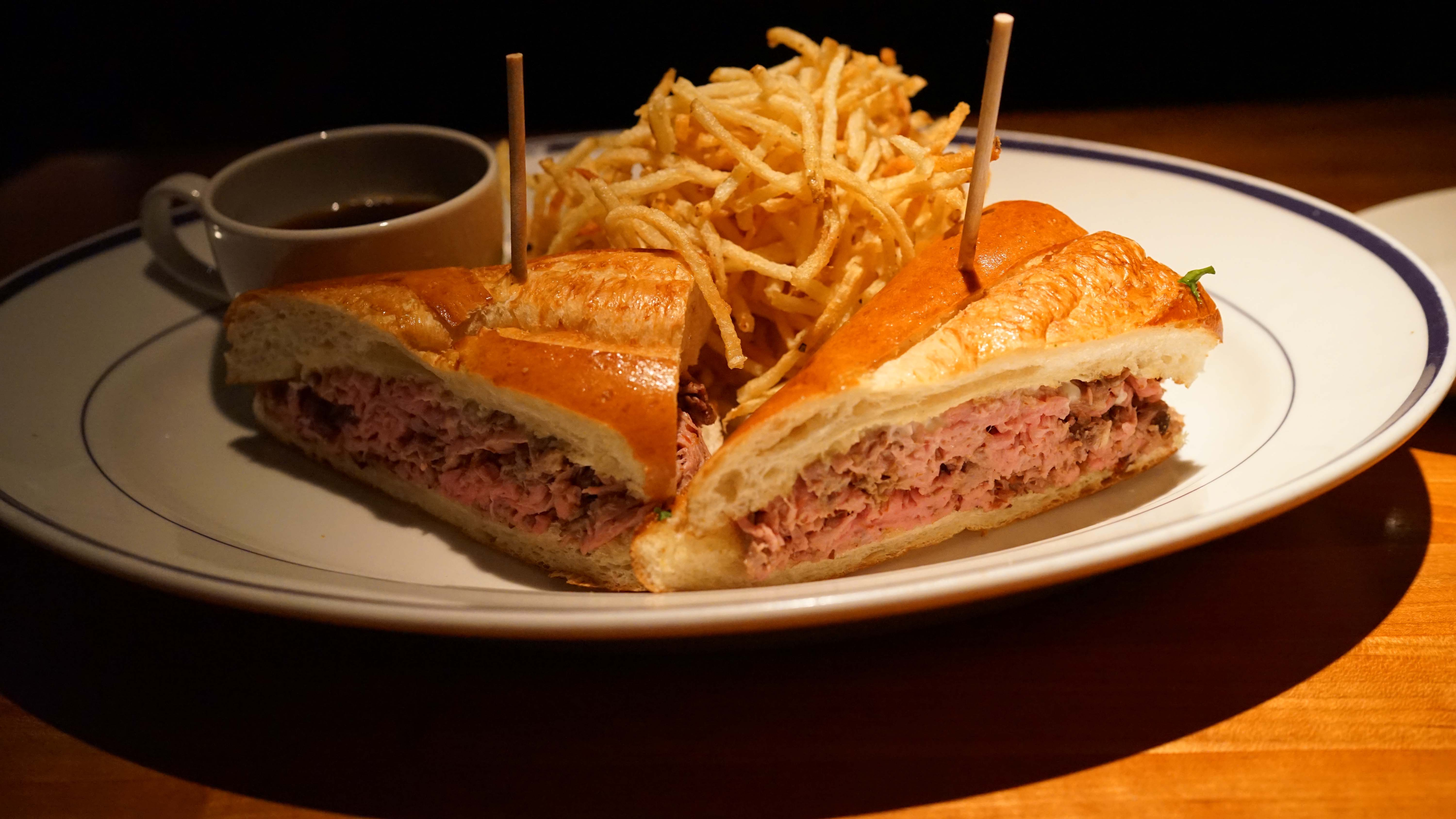 Hillsteon French dip