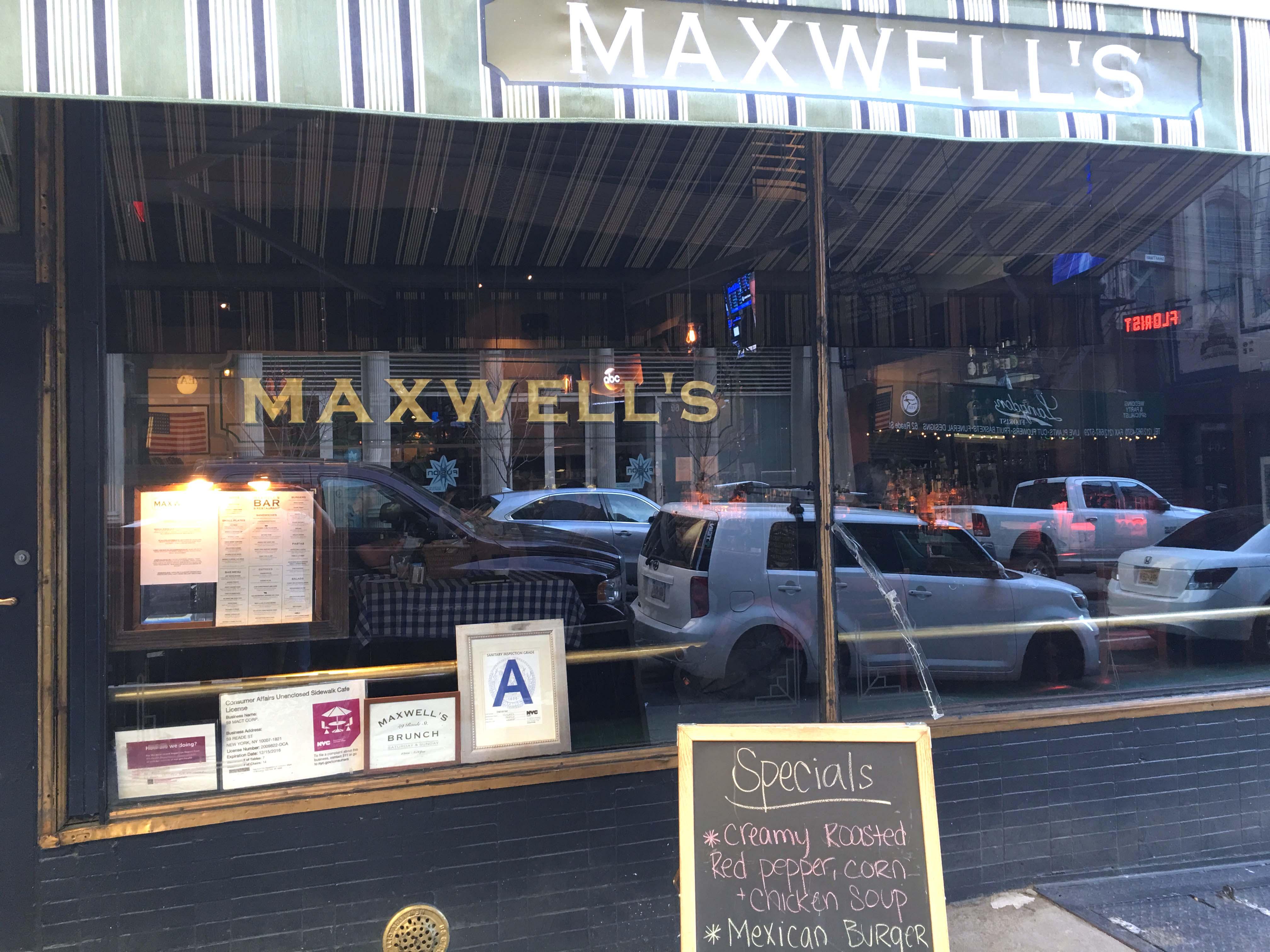 Maxwells front