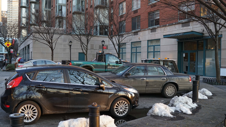 PEP parking lot