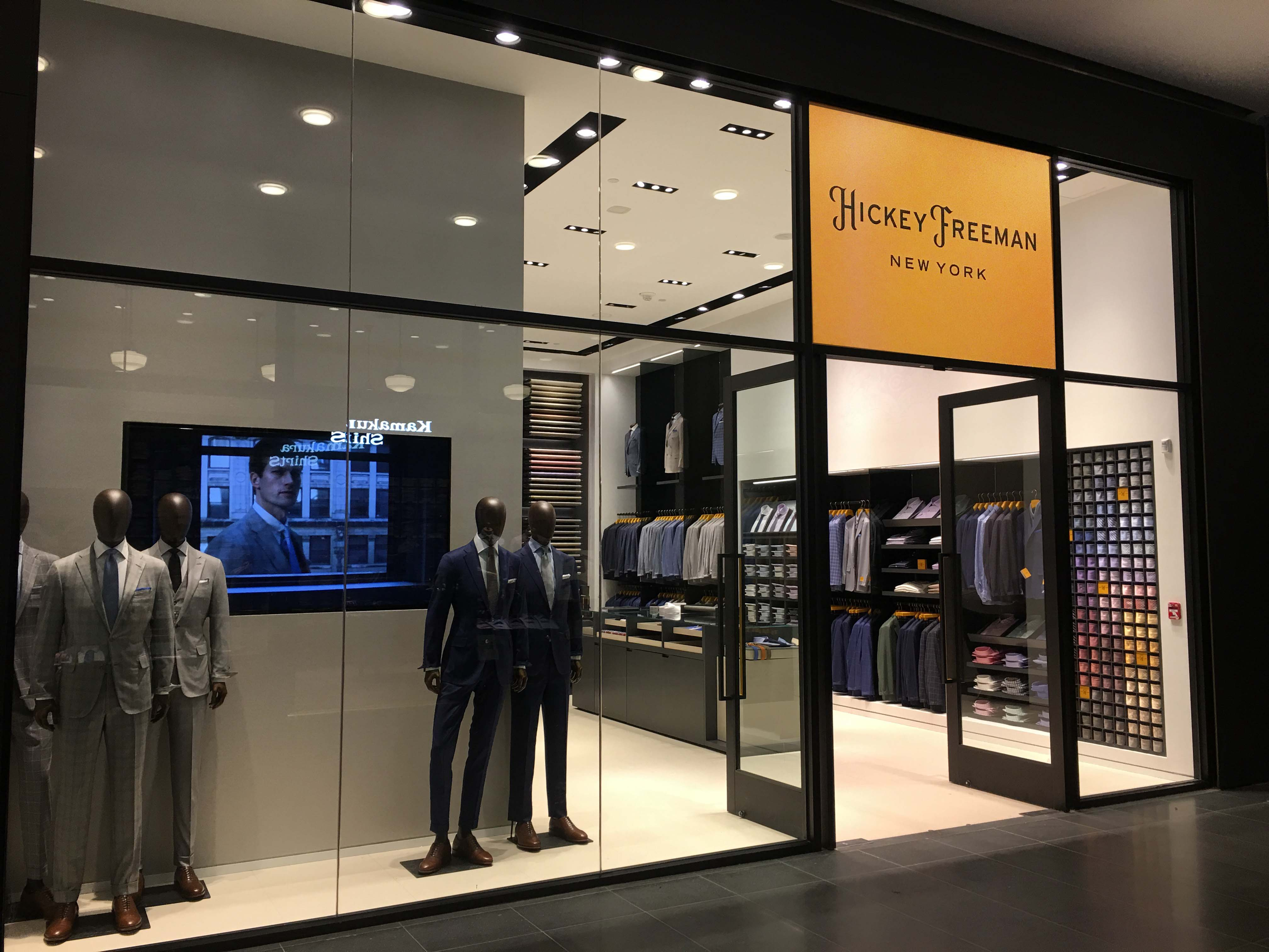 hickey freeman suit shop opens in brookfield place batterypark
